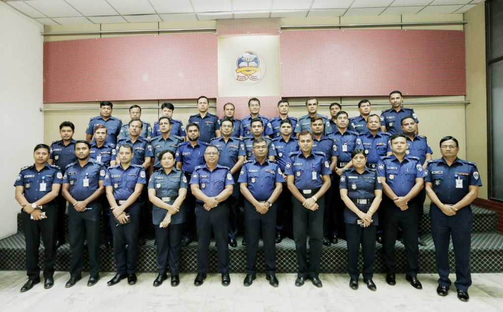 Participant of 2nd Investigation and Prosecution Certificate Course for PBI Officer