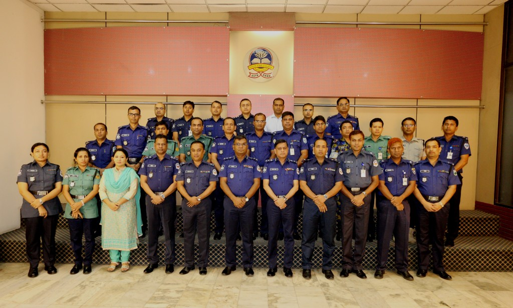 Participant of 34th Police Financial Management Certificate Course.