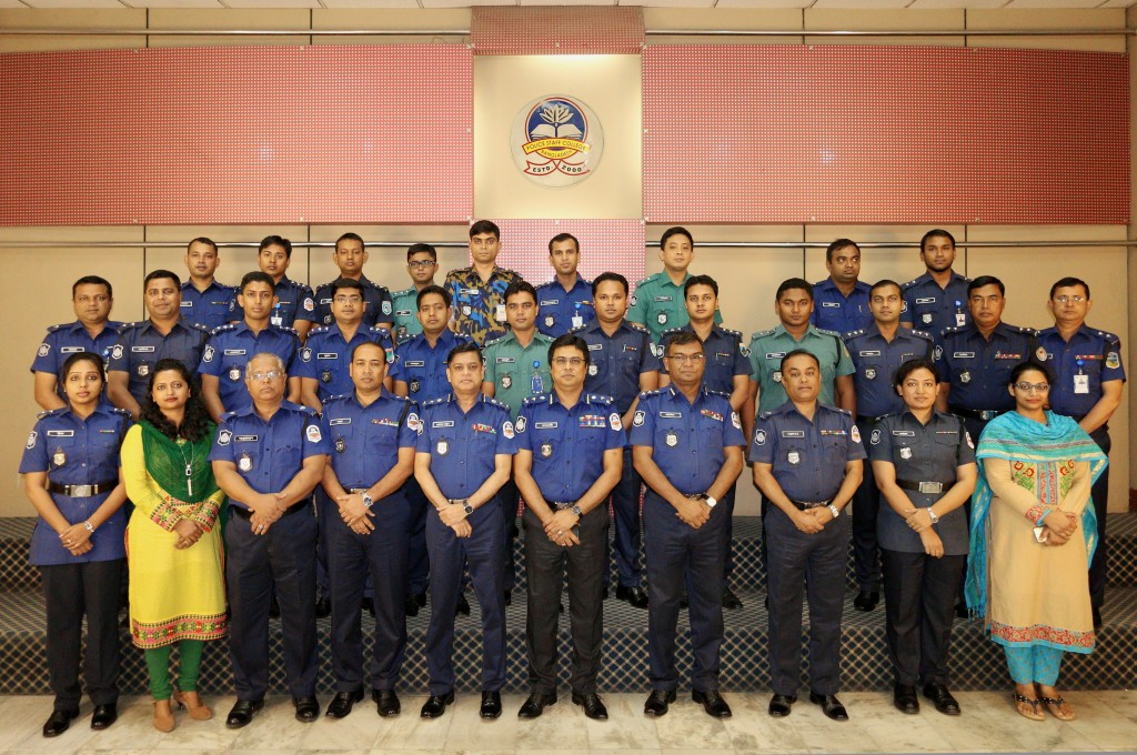 Participant of 39th Police Management Certificate Course.
