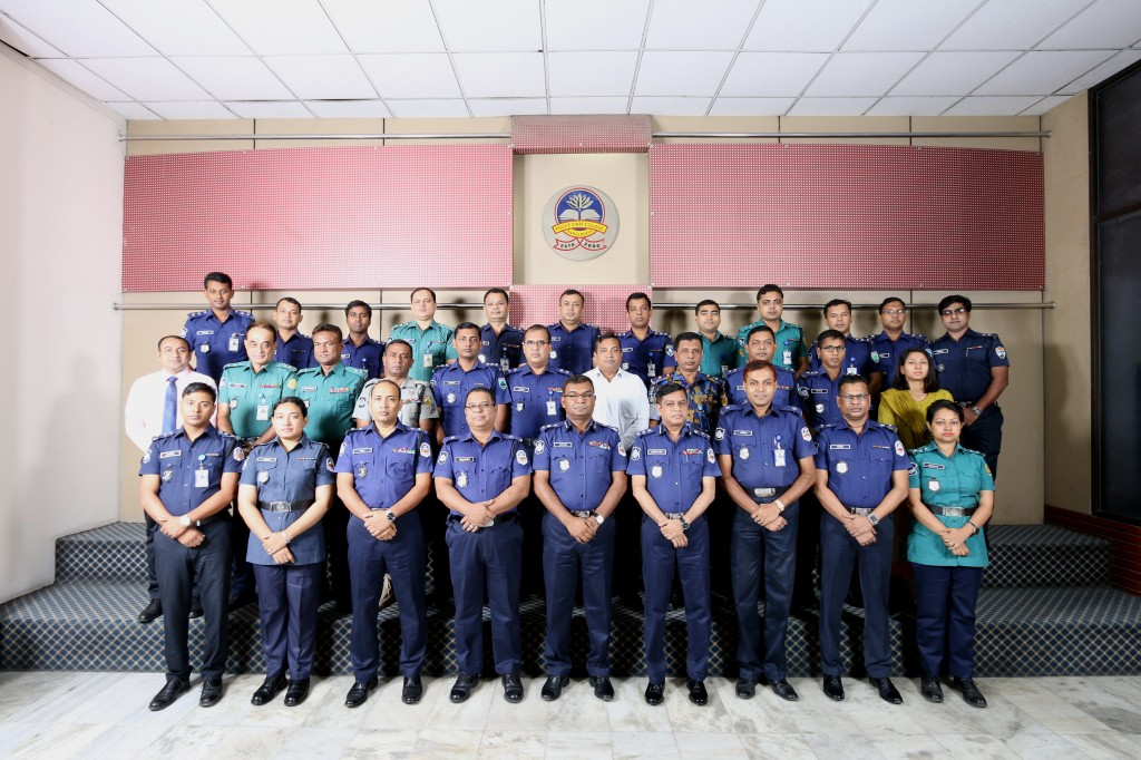 Participant of 40th Police Management Certificate Course