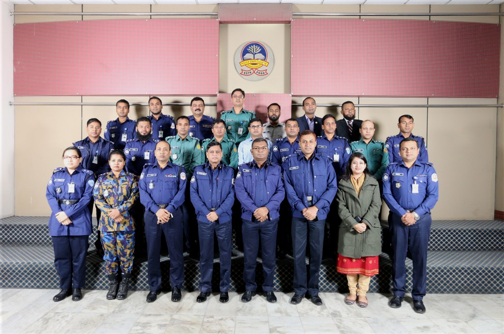Participant of 41st Police Management Certificate Course.