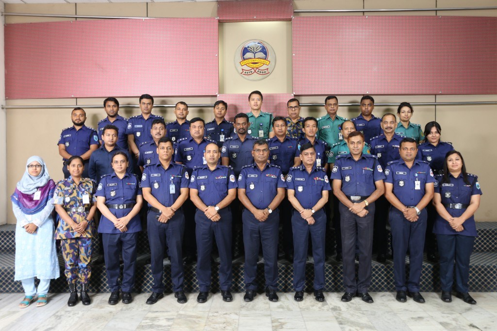 Participant of 42nd Police Management Certificate Course.