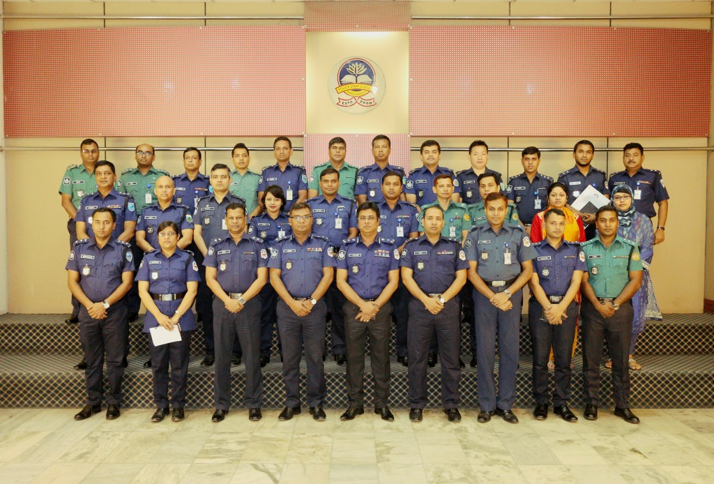 Participant of 8th Crime Administration Management Certificate Course (Circle ASP and Addl. SP)