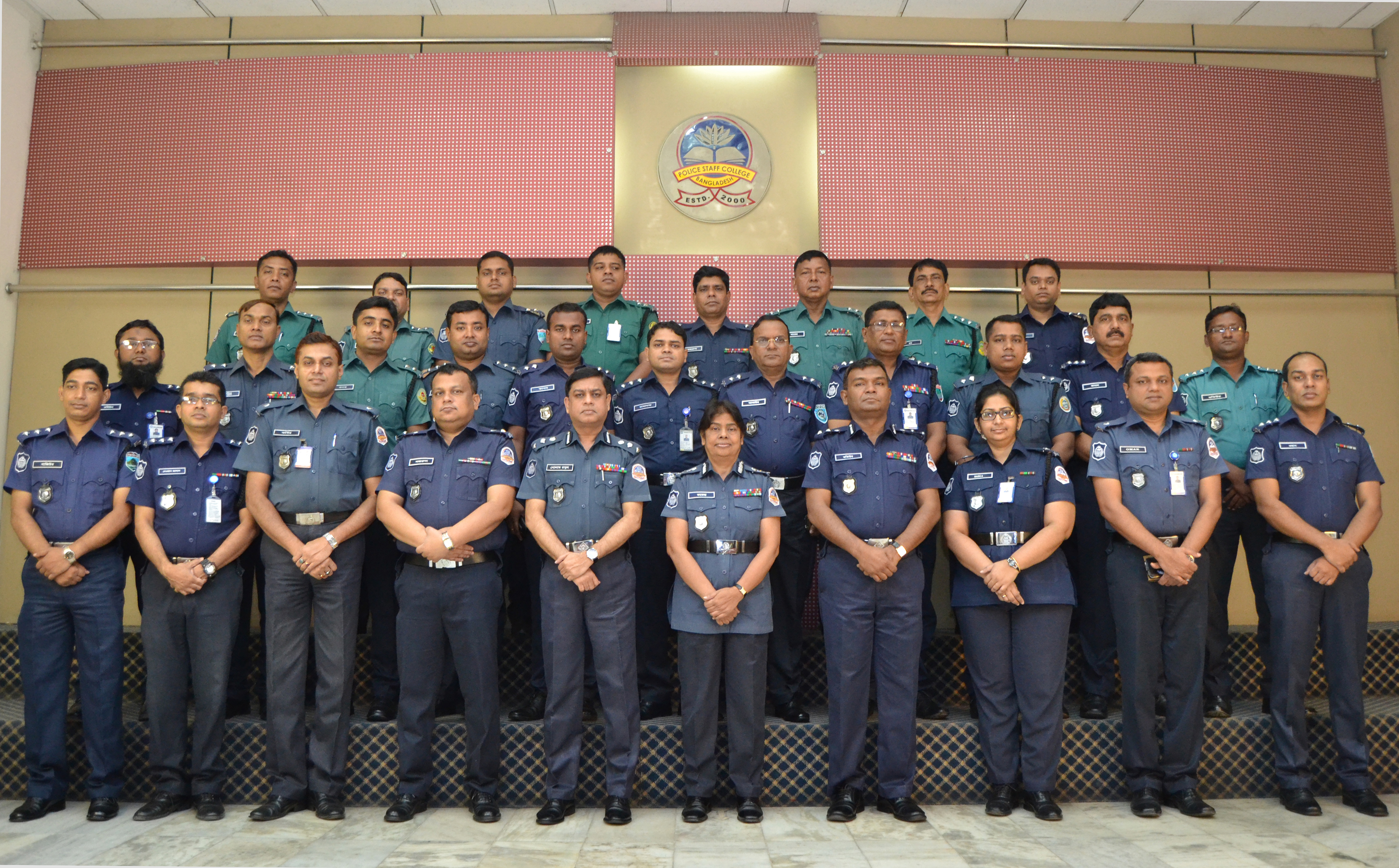 Participant of 4th Crime Administration Management Certificate Course (Circle ASP and Addl. SP)