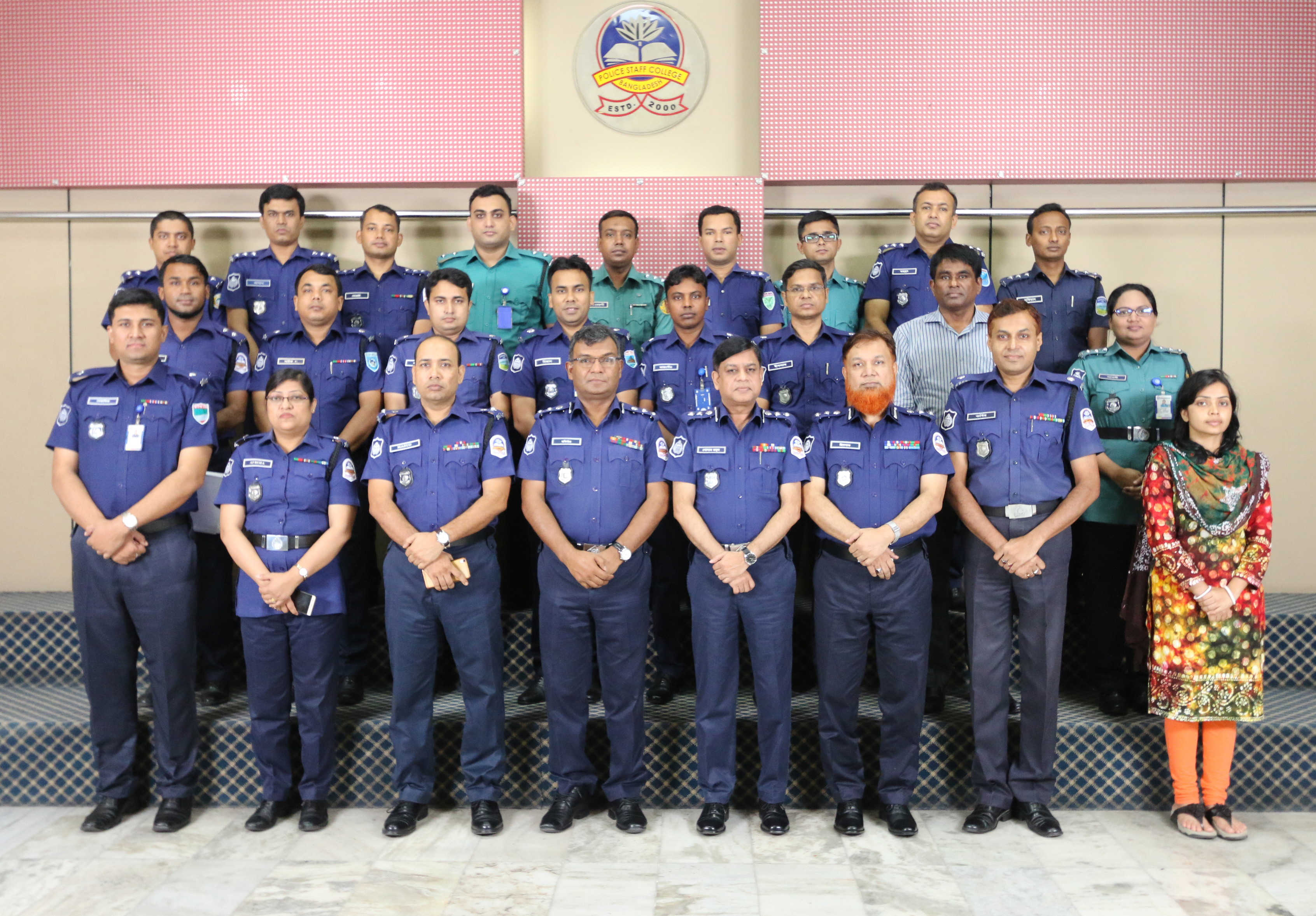 Participant of 12th Crime Administration Management Certificate Course (Circle ASP and Addl. SP)