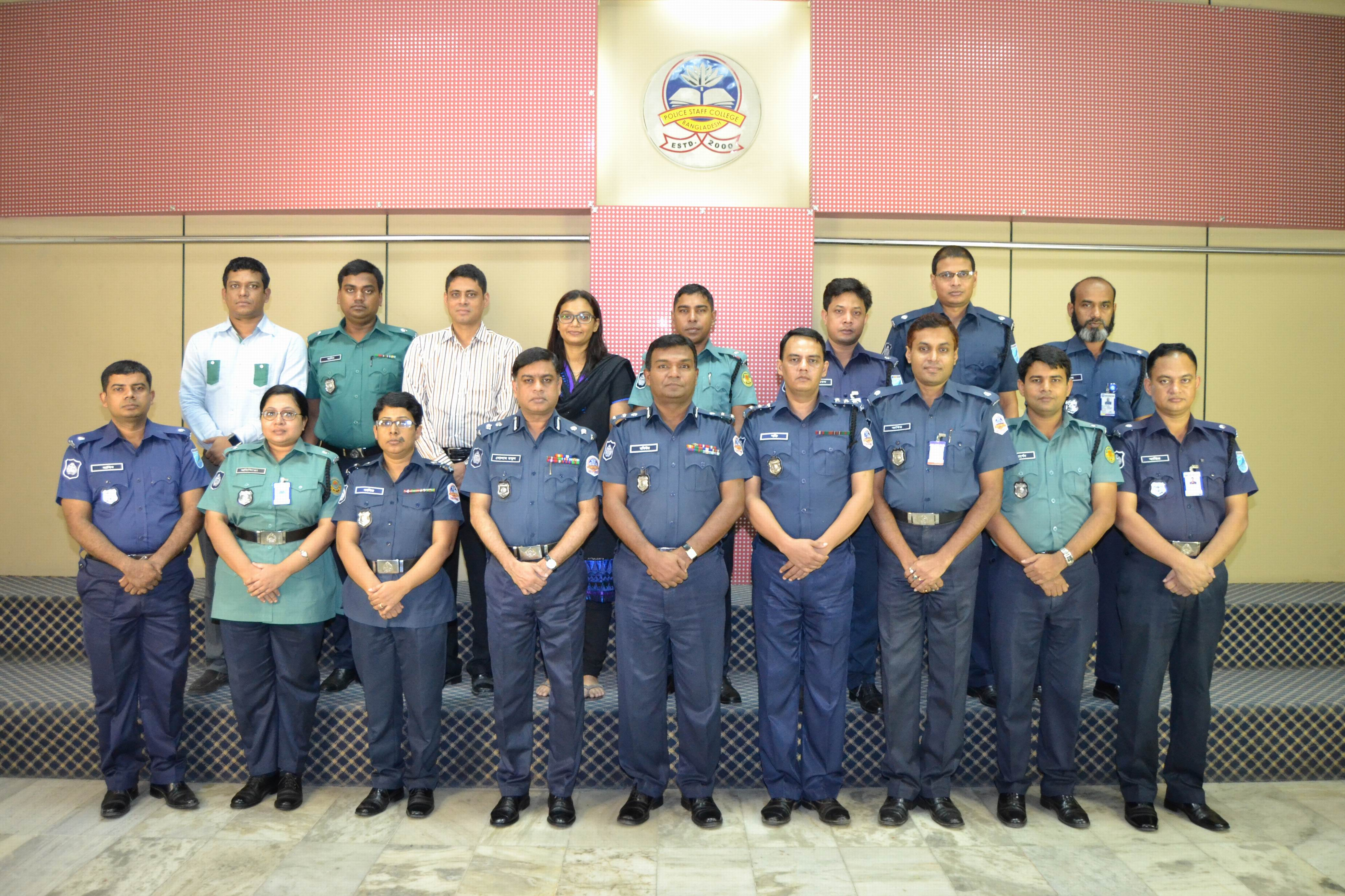 Participant of 4th Comprehensive Police Case Management Course