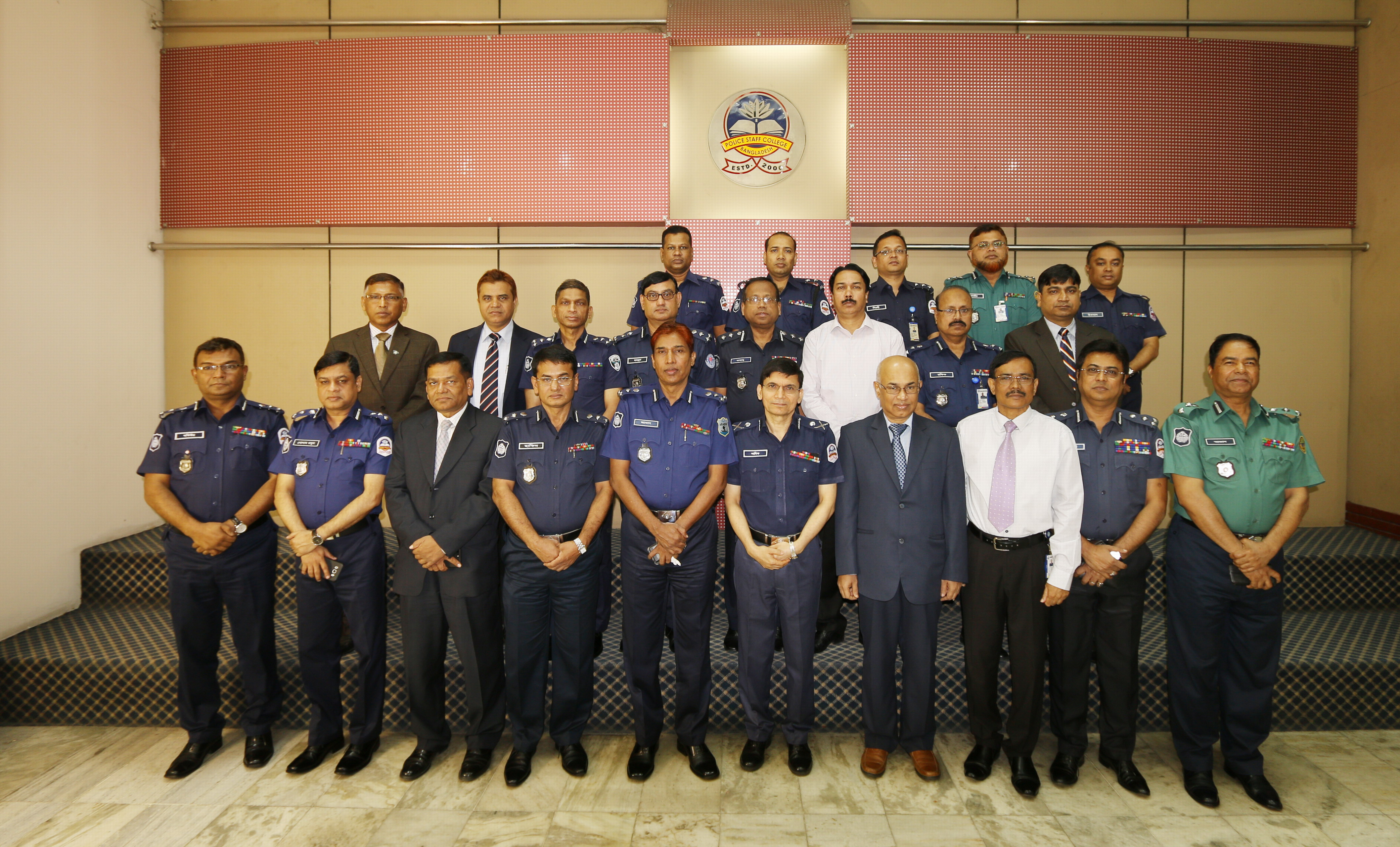 Participant of 4th Leadership and Management Course for Senior Police Executive (DIG & Addl. DIG)