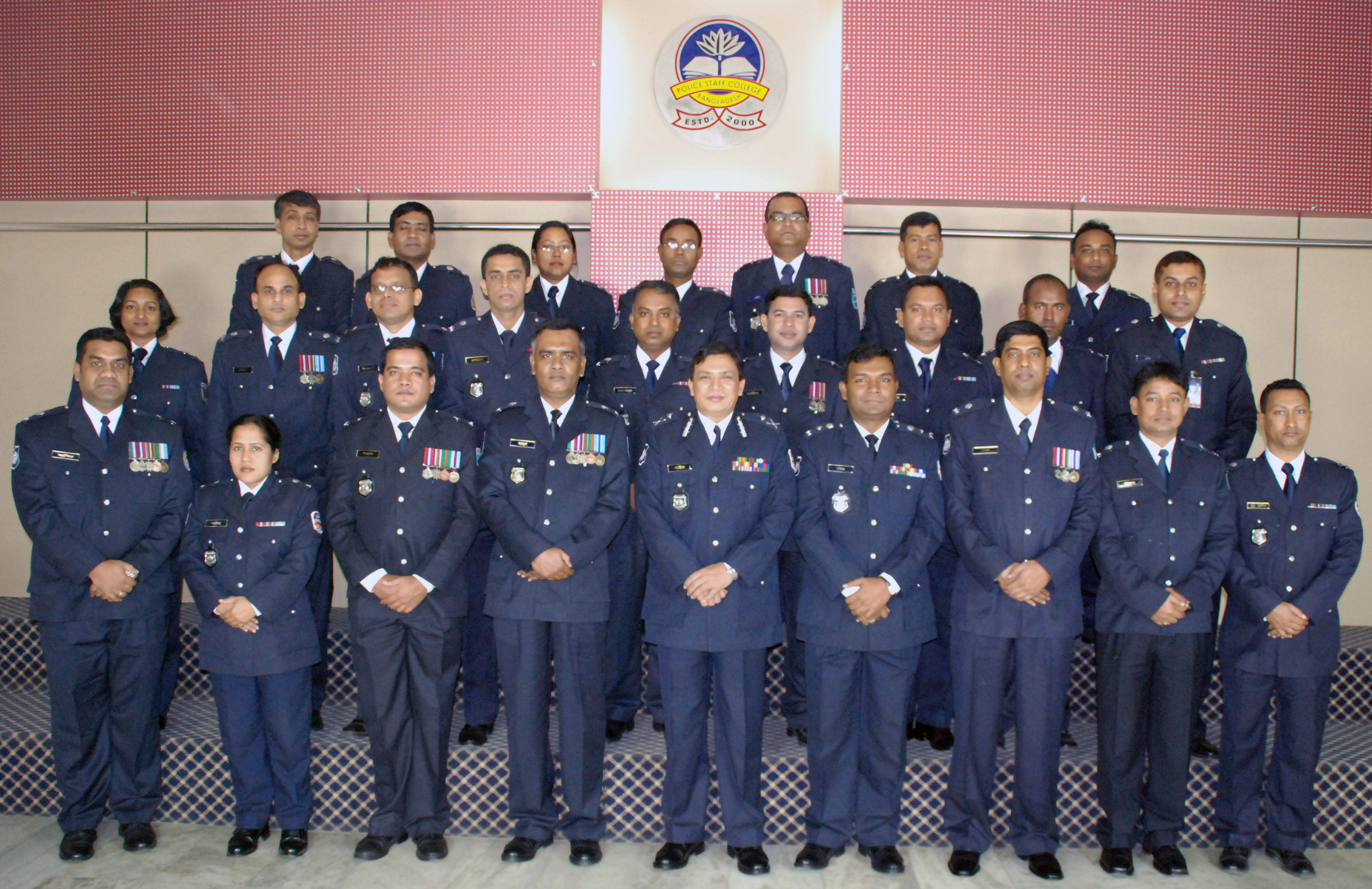 Participant of 8th Police Financial Management Certificate Course.