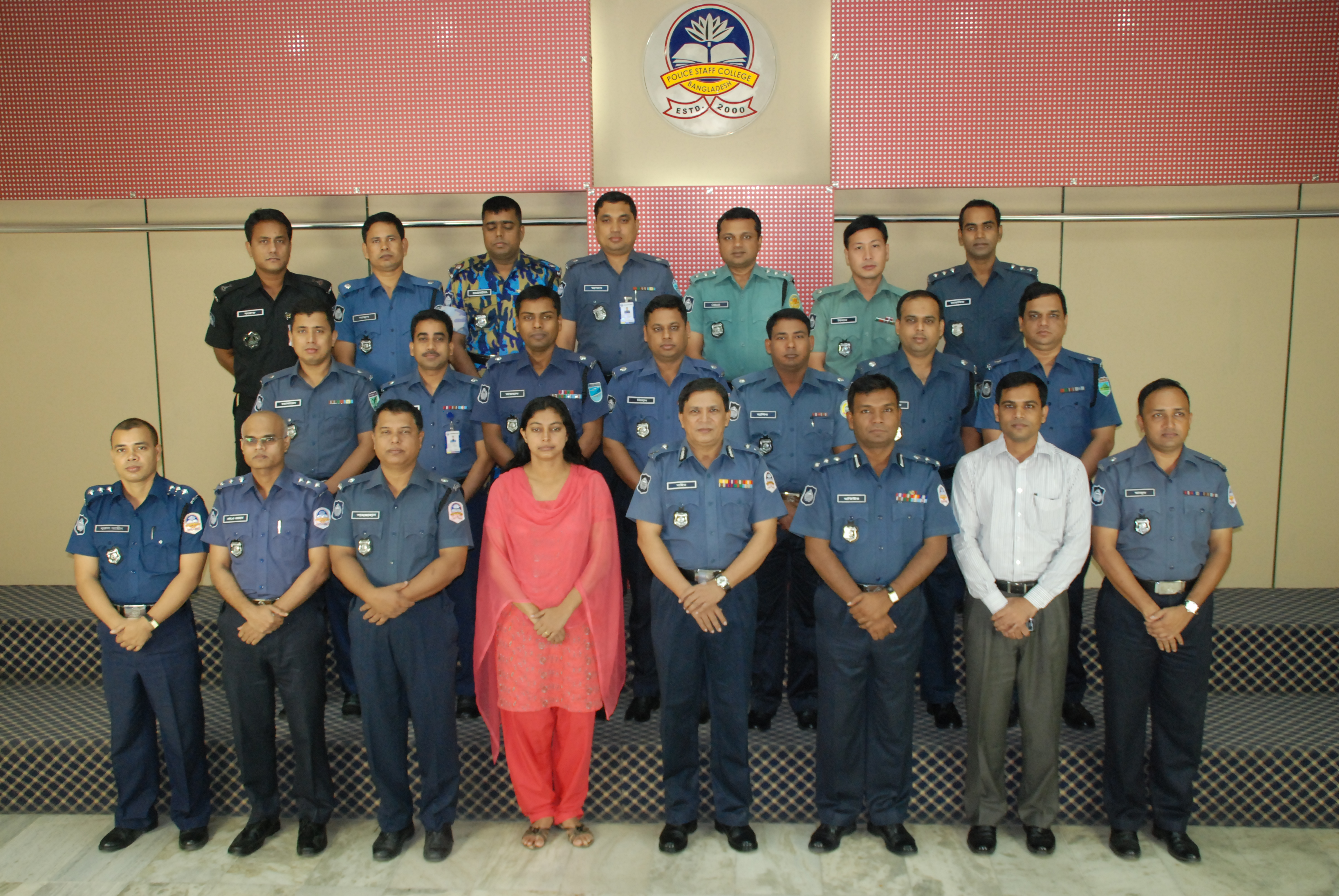 Participant of 12th Police Financial Management Certificate Course.