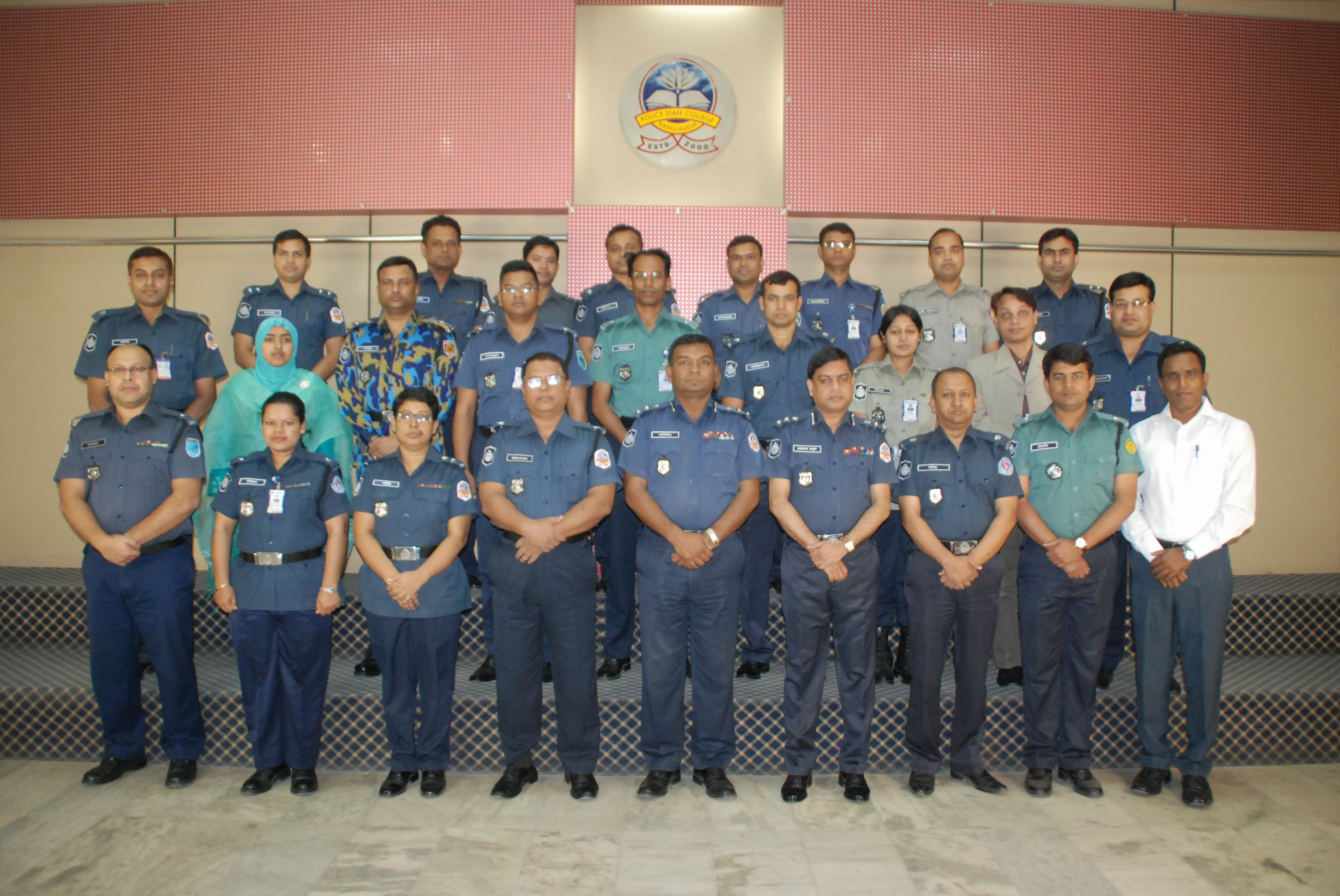Participant of 21st Police Financial Management Certificate Course.