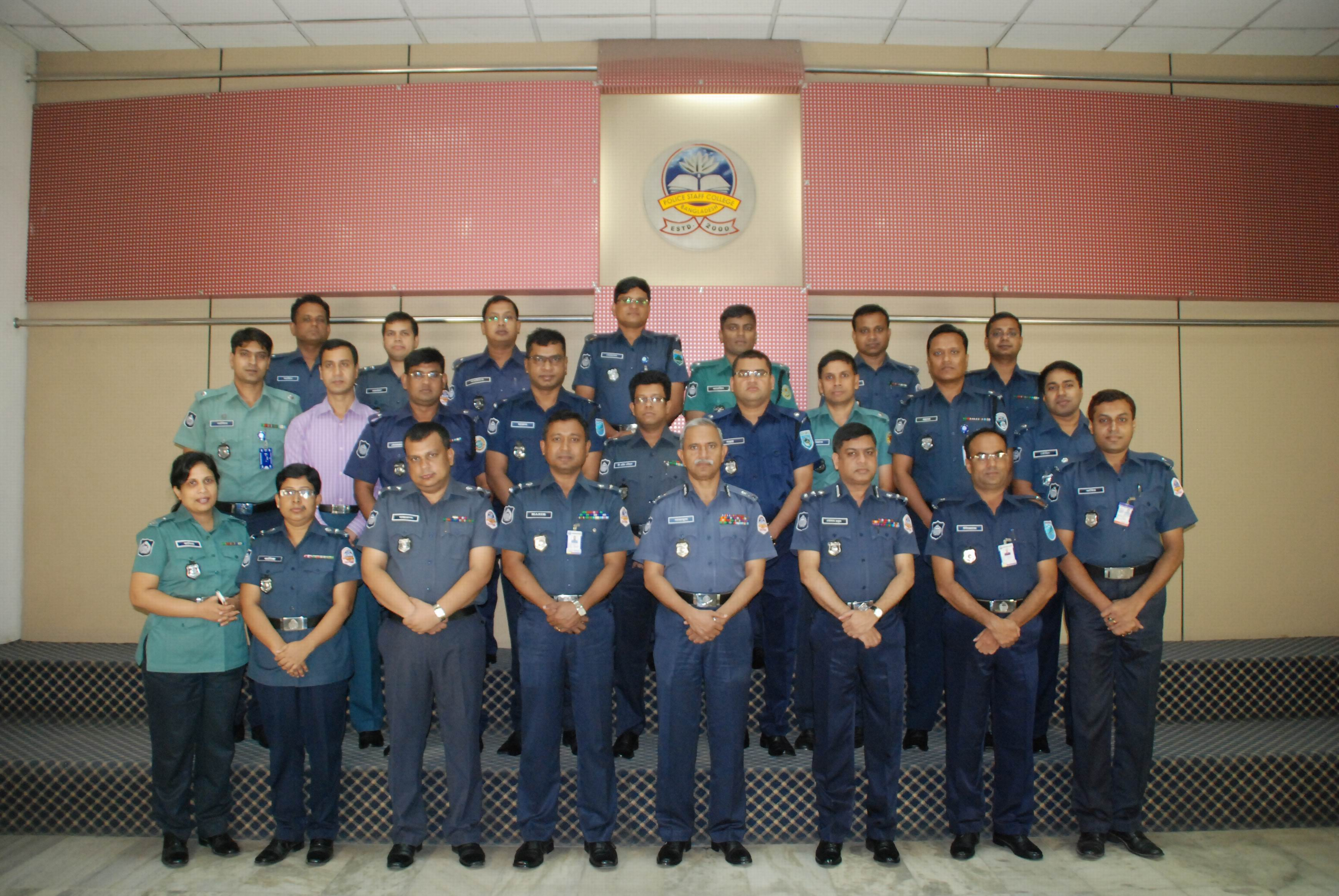 Participant of 22nd Police Financial Management Certificate Course.