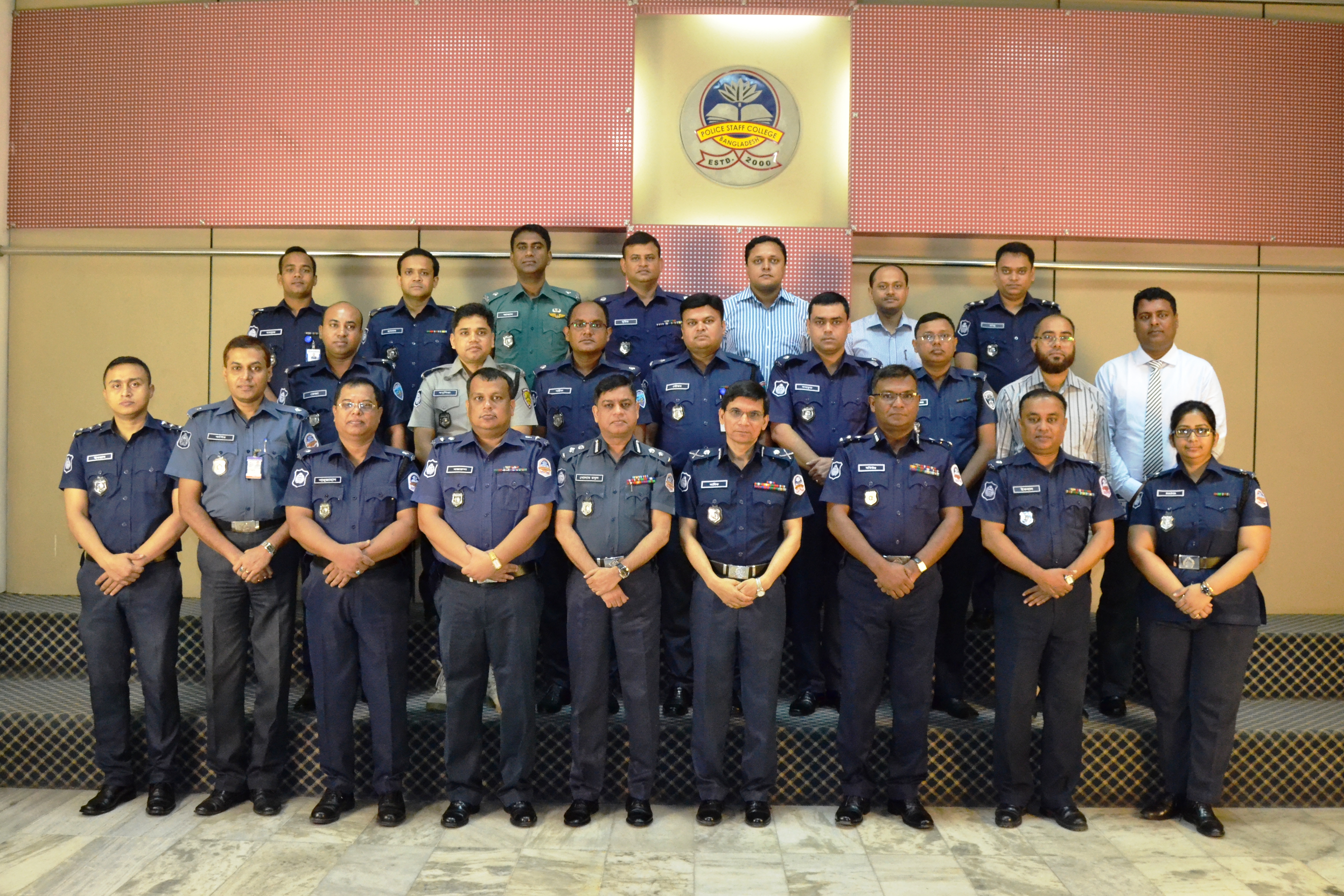 Participant of 29th Police Financial Management Certificate Course.
