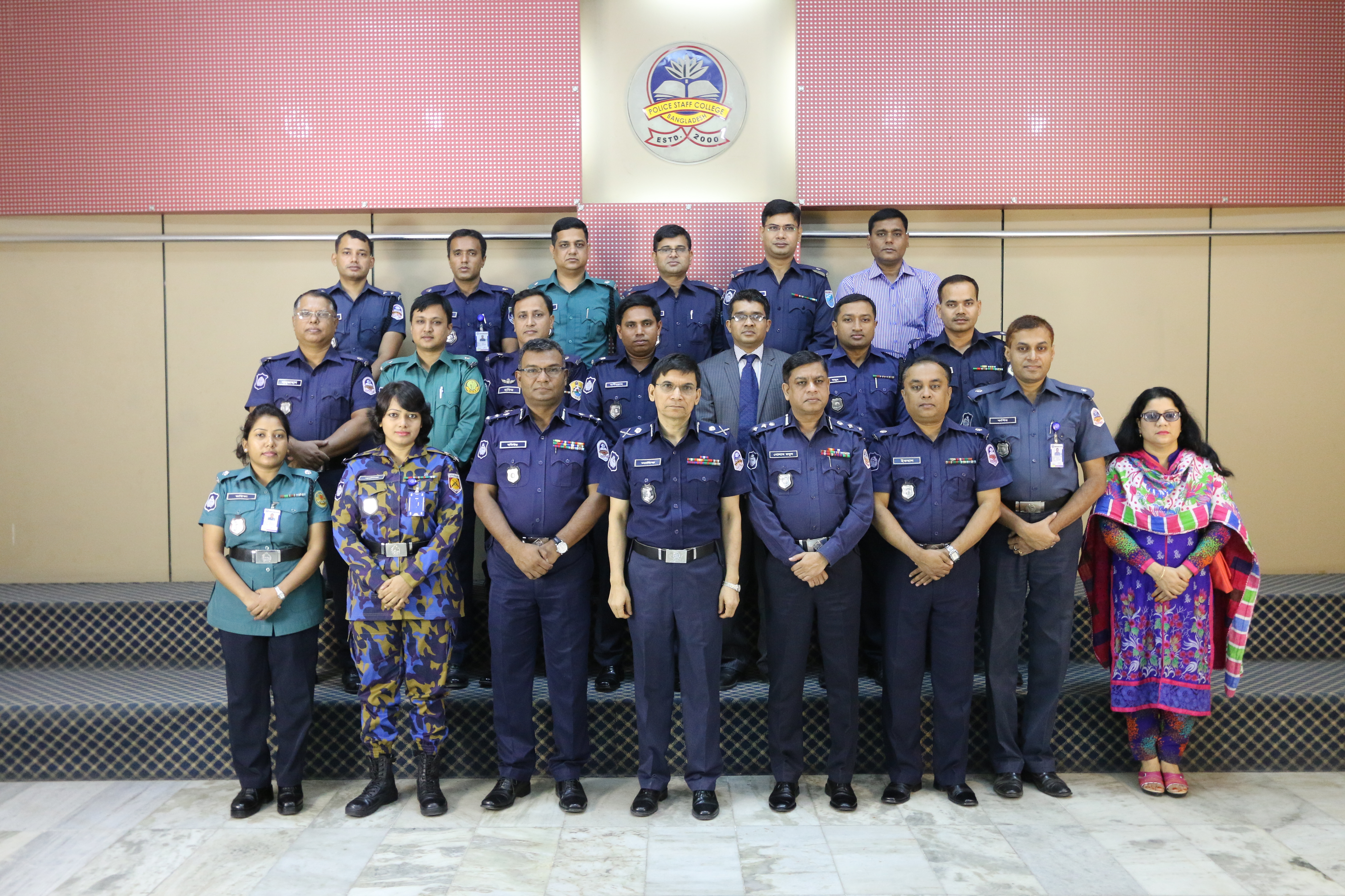 Participant of 31st Police Financial Management Certificate Course.