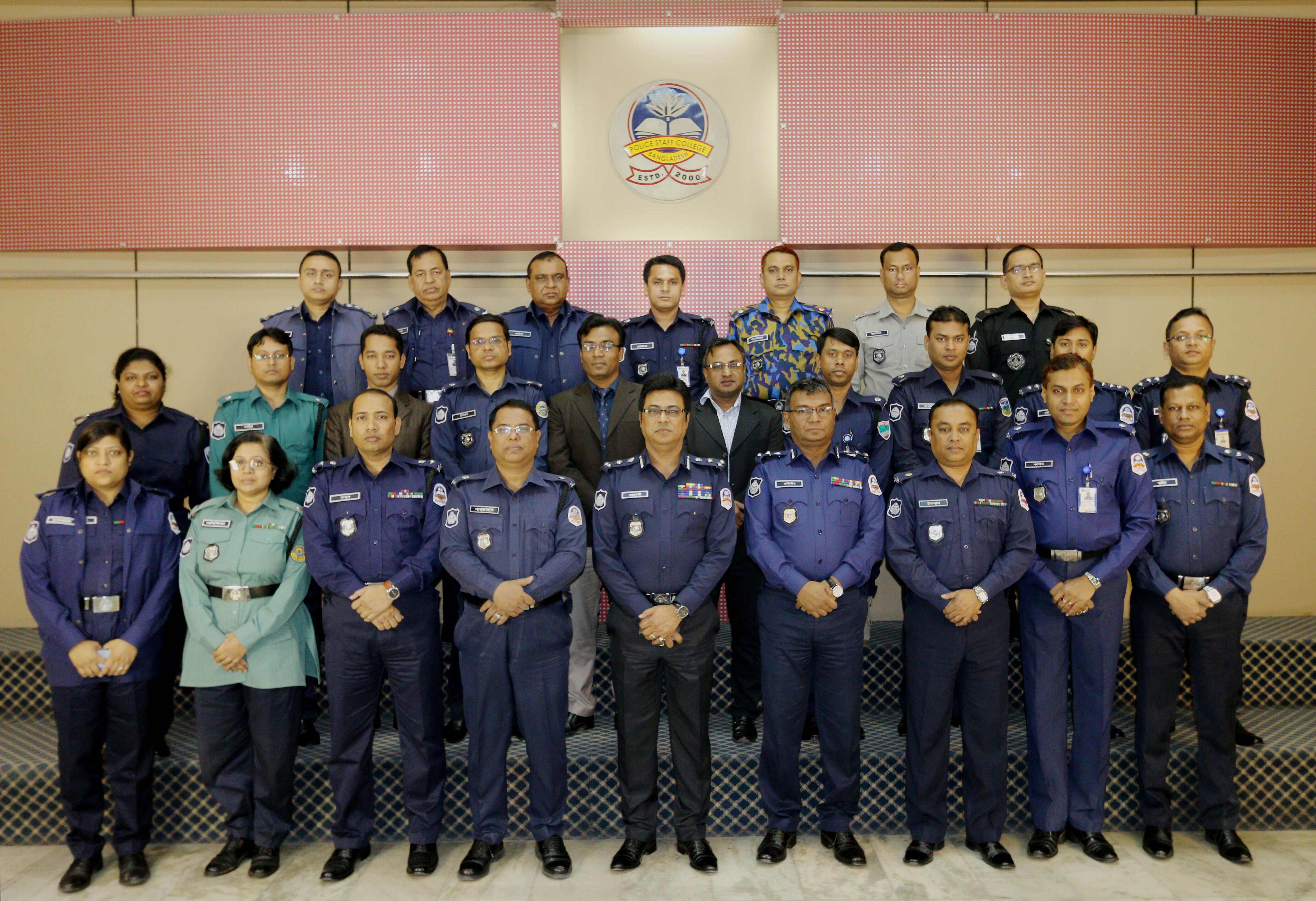 Participant of 32nd Police Financial Management Certificate Course.