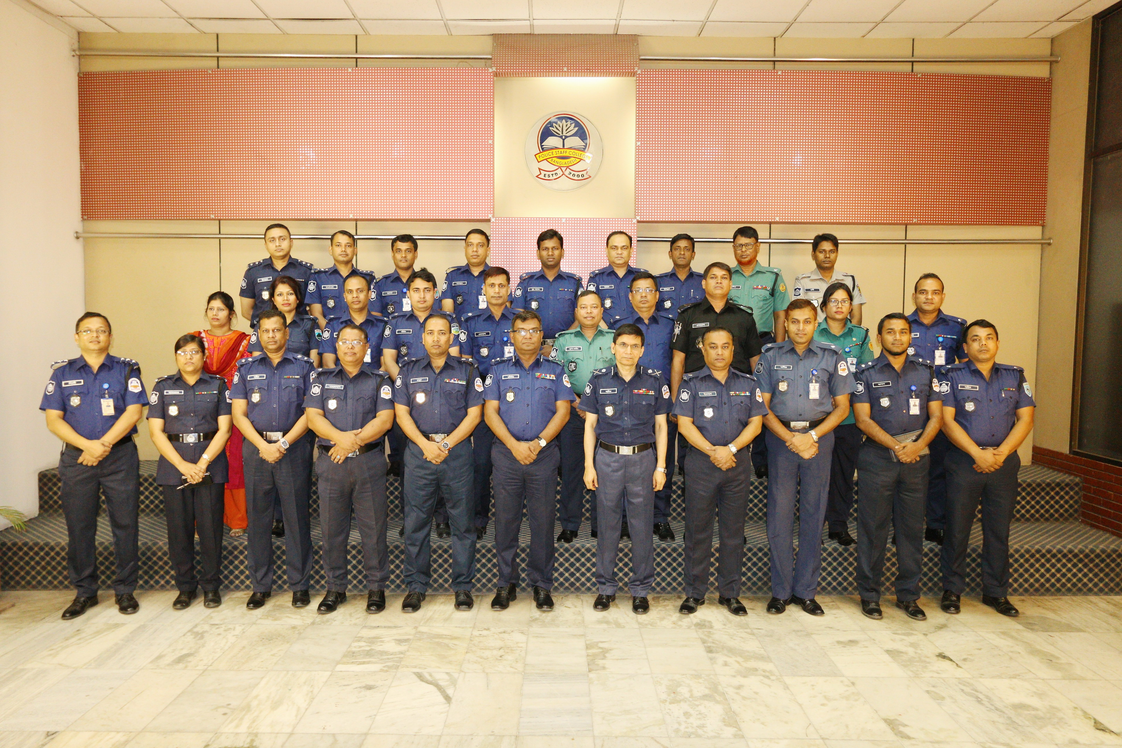 Participant of 33rd Police Financial Management Certificate Course.