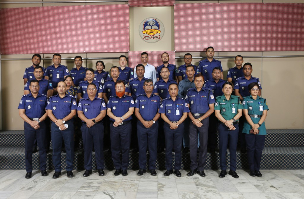Participant of 37th Police Financial Management Certificate Course.