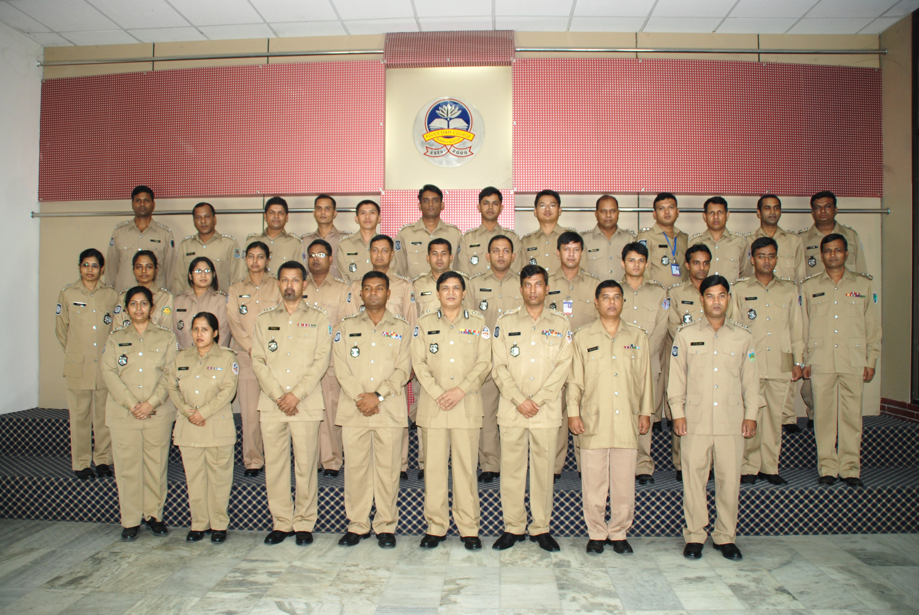 Participant of 10th Police Management Certificate Course.