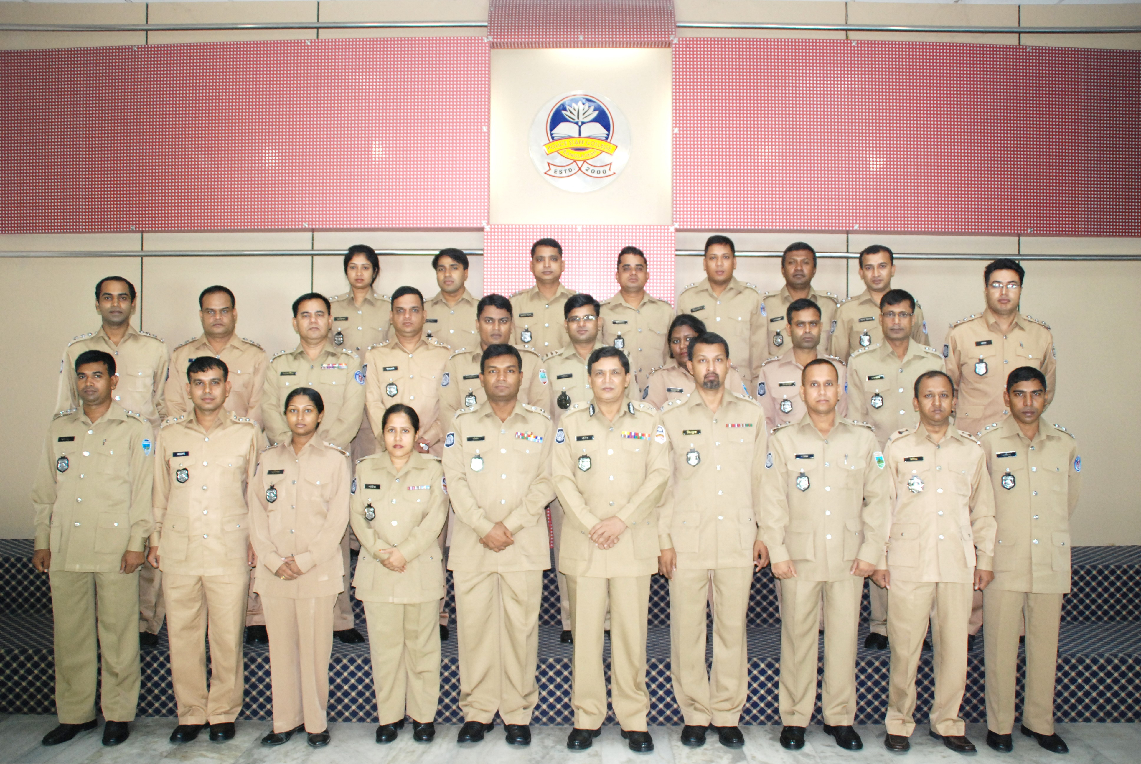 Participant of 11th Police Management Certificate Course.