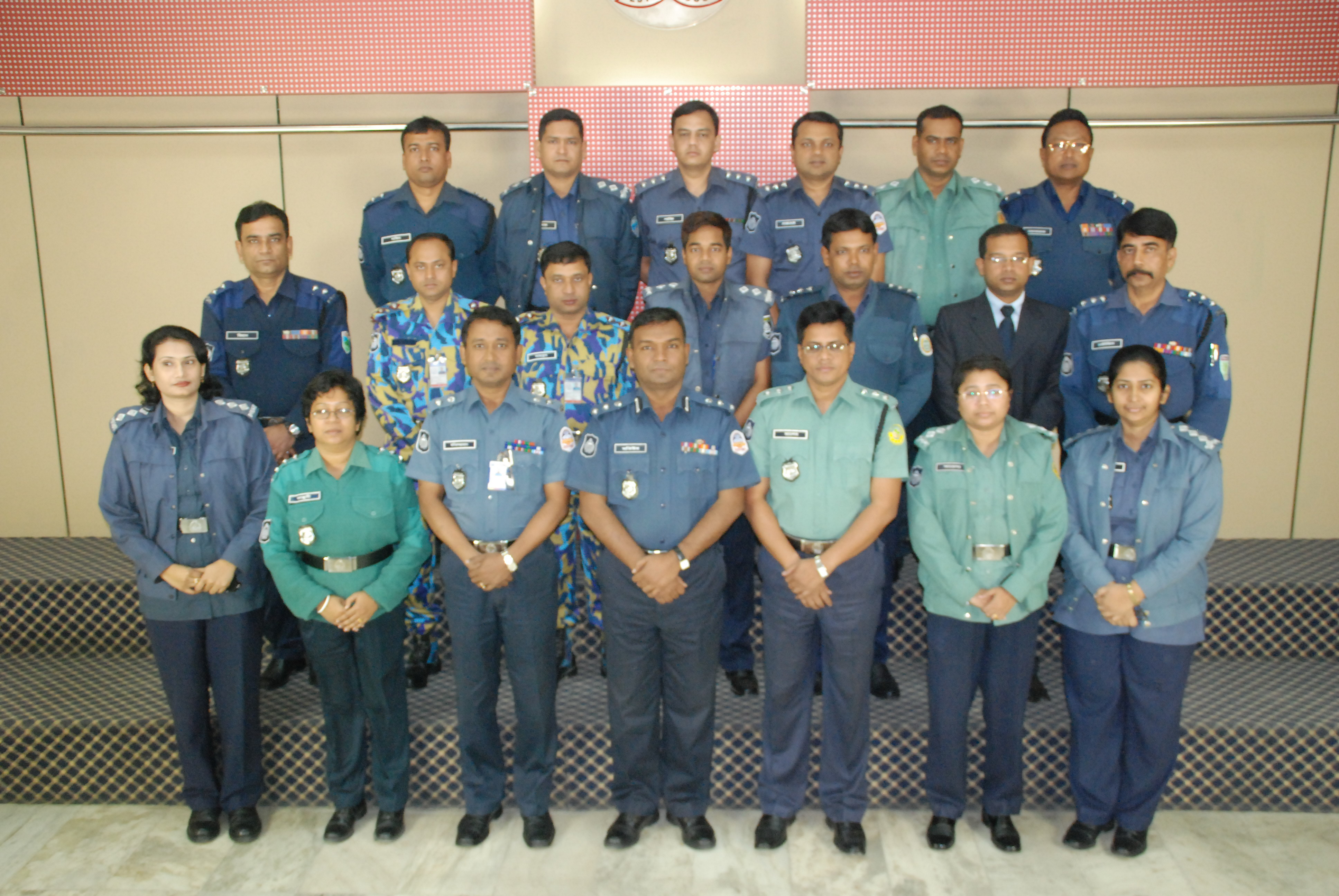 Participant of 15th Police Management Certificate Course.