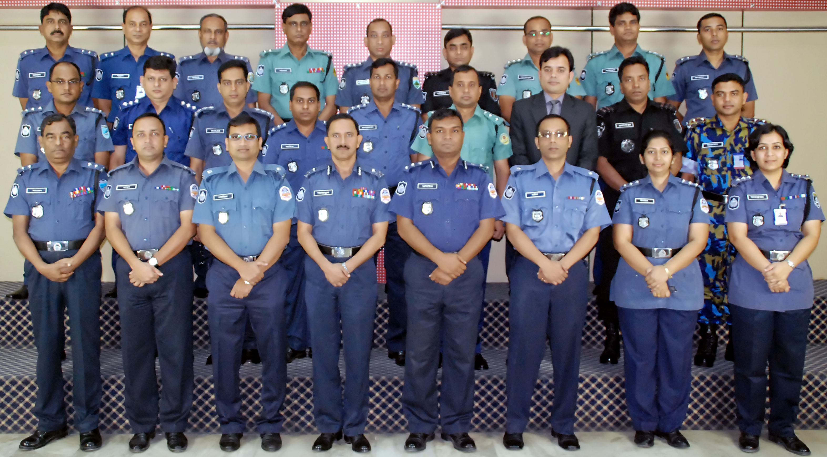 Participant of 18th Police Management Course.
