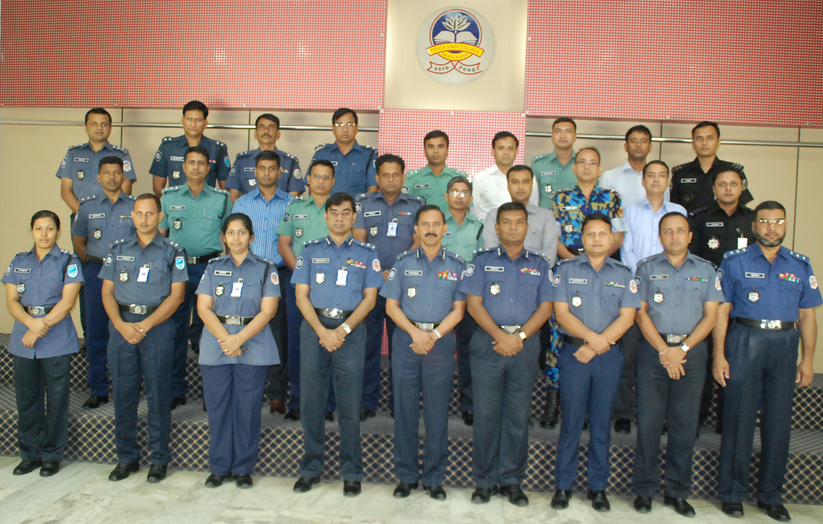 Participant of 19th Police Management Certificate Course.