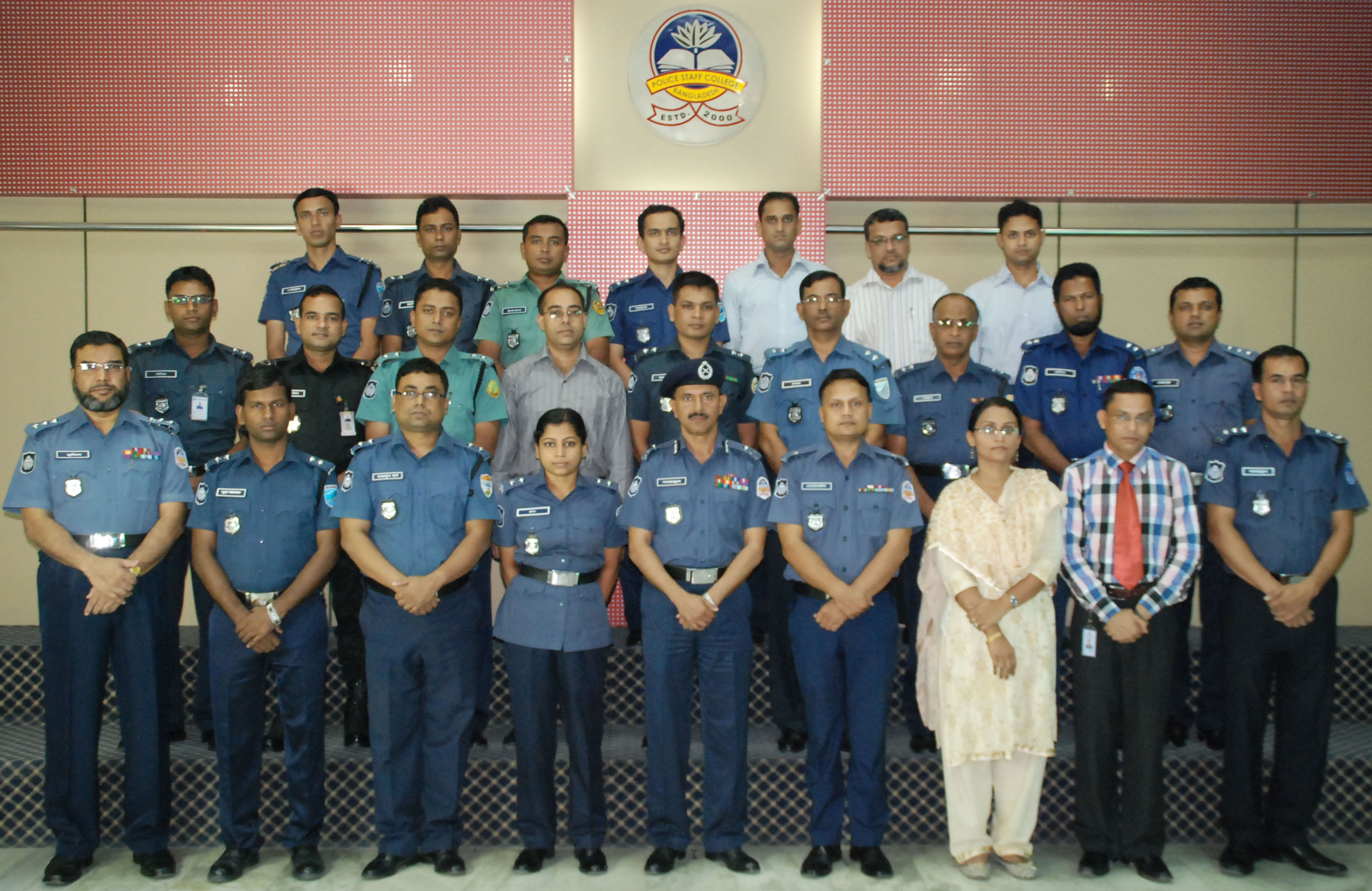 Participant of 20th Police Management Course.