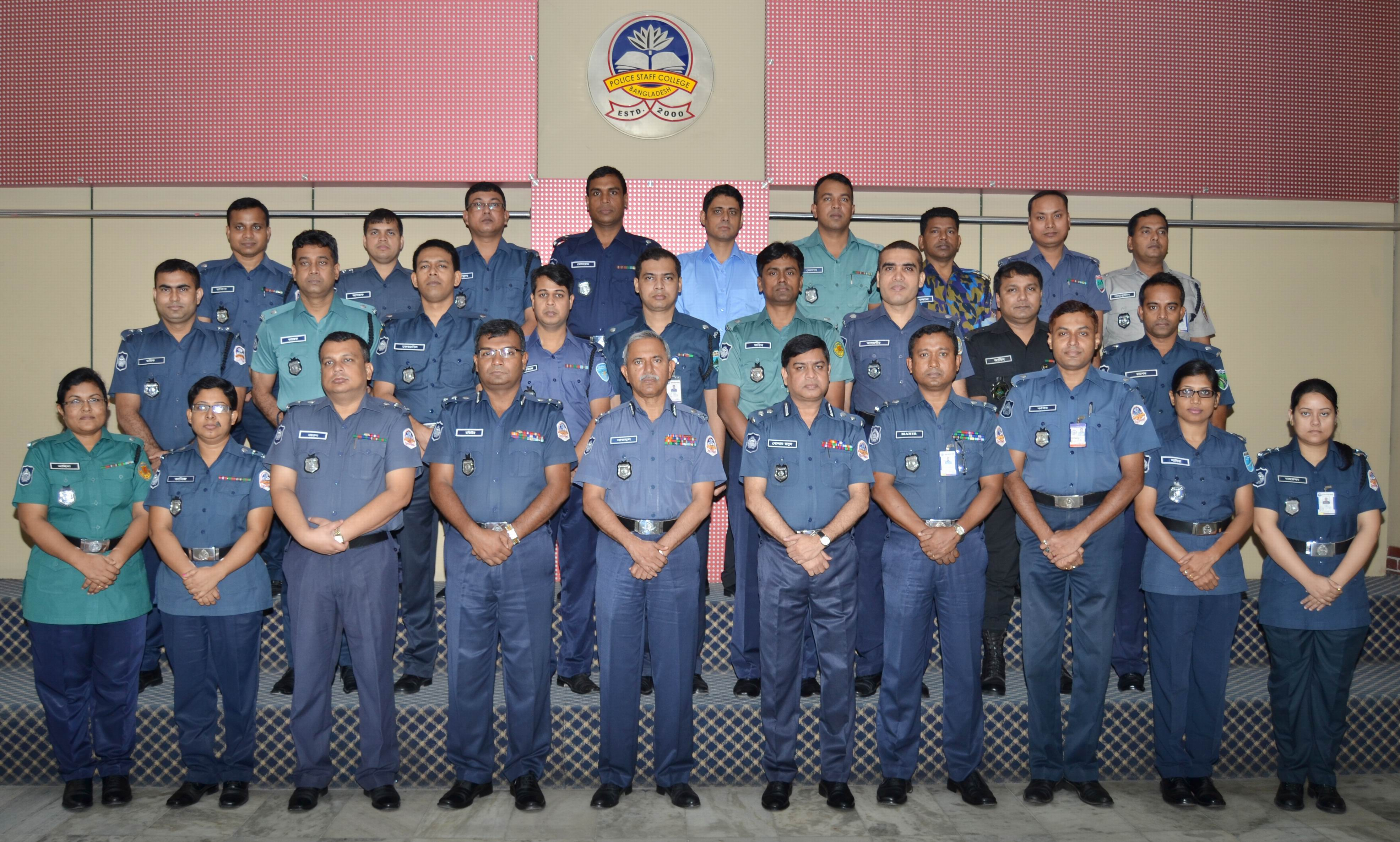 Participant of 23rd Police Management Certificate Course.