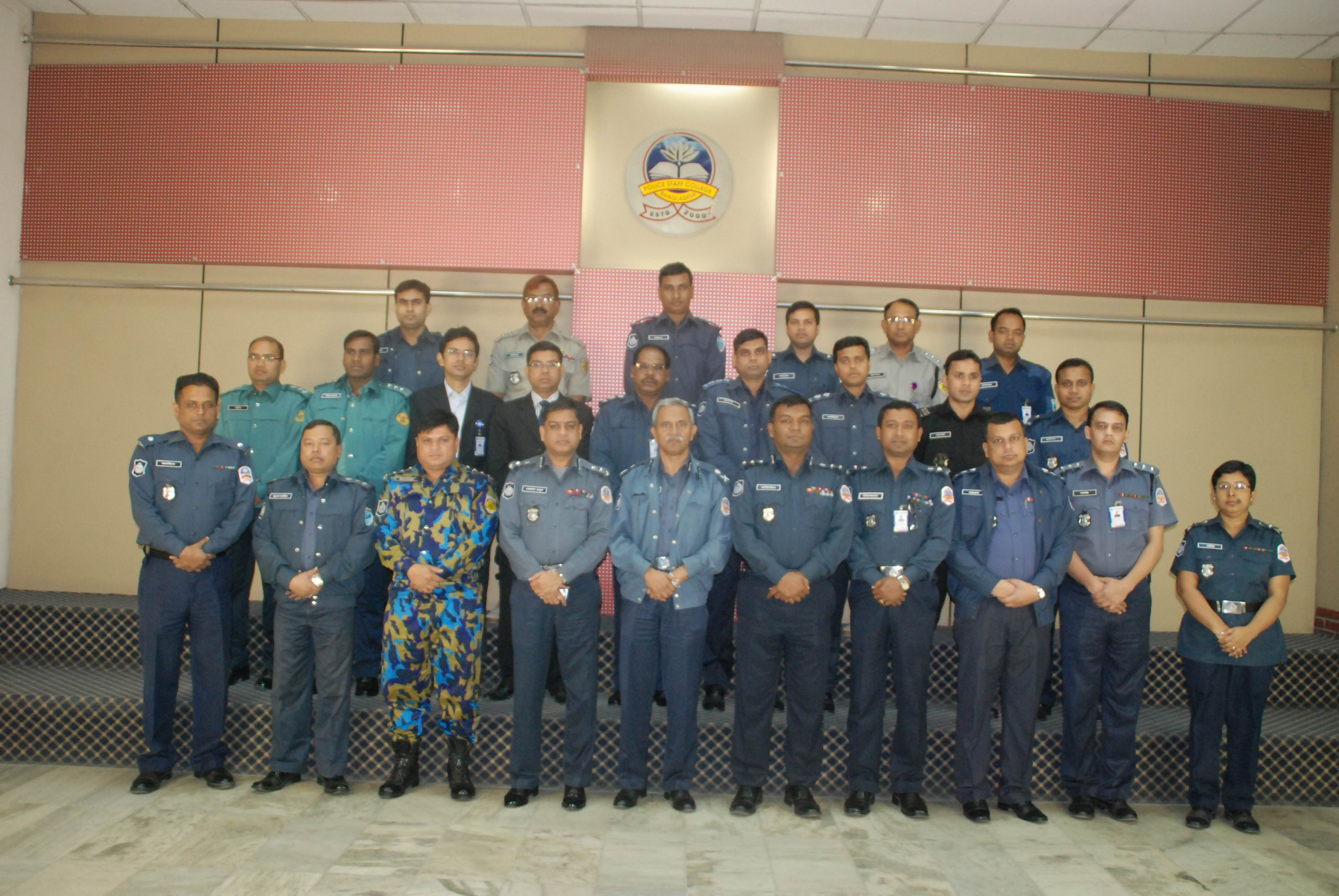 Participant of 24th Police Management Certificate Course.