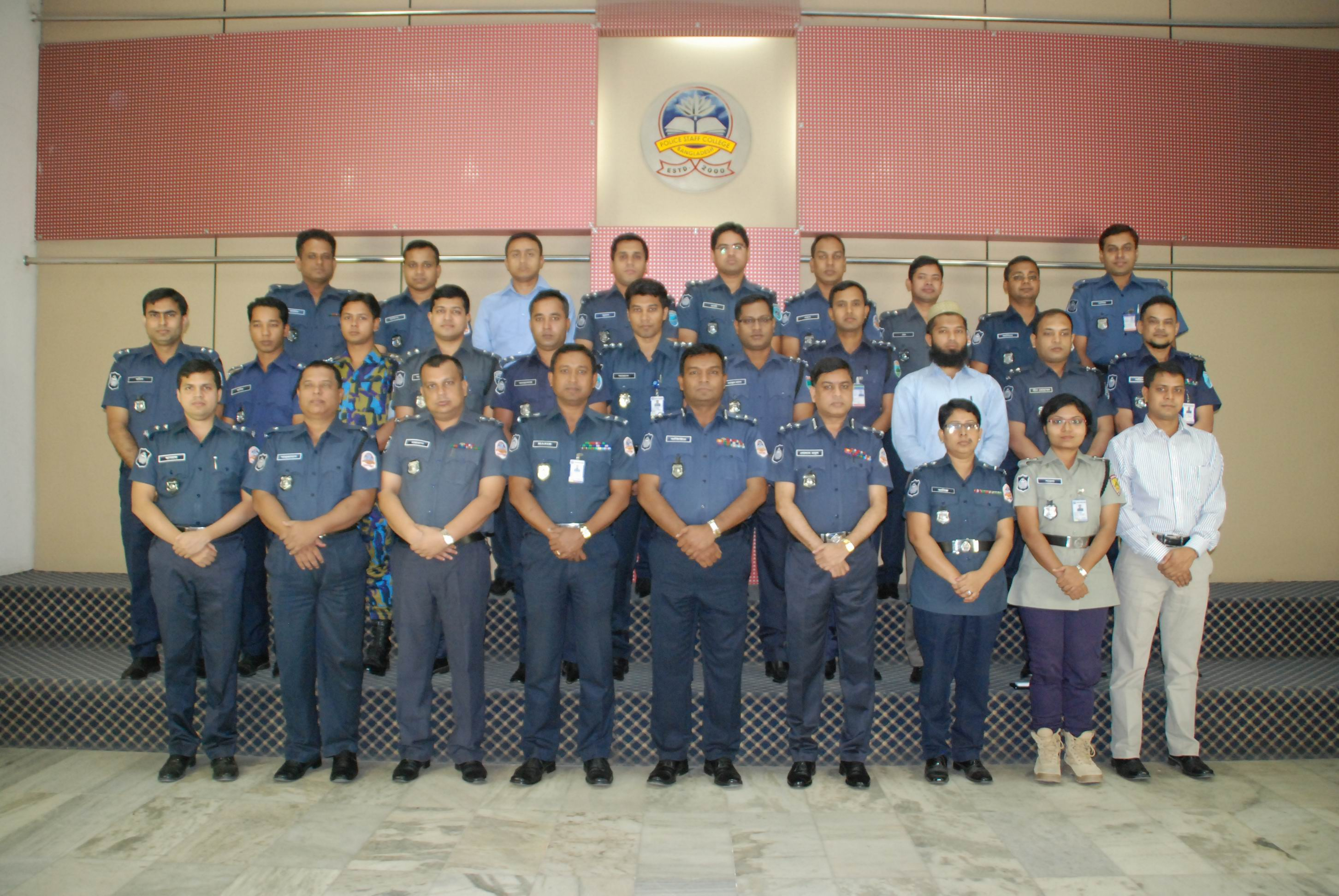 Participant of 25th Police Management Certificate Course.