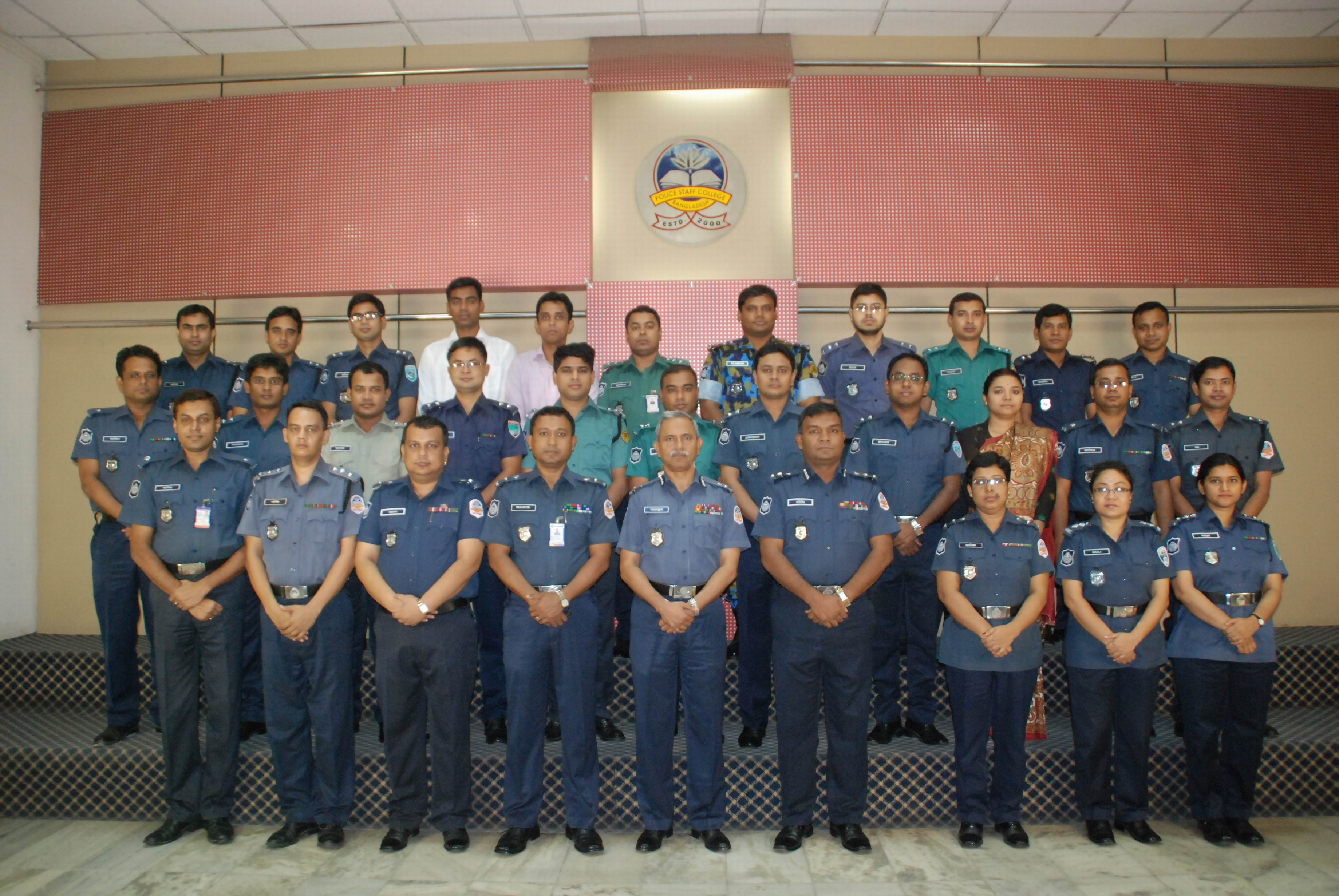 Participant of 26th Police Management Certificate Course.