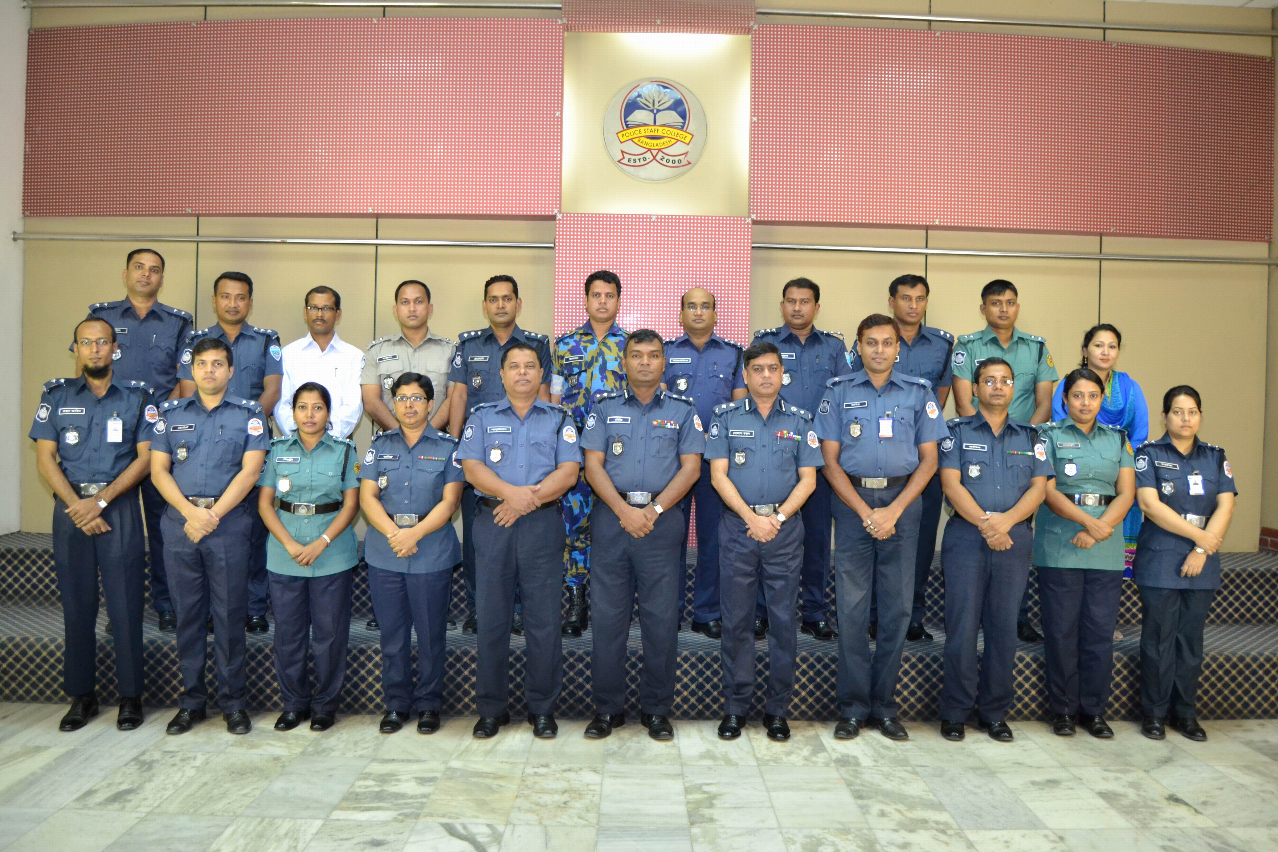 Participant of 27th Police Management Certificate Course.