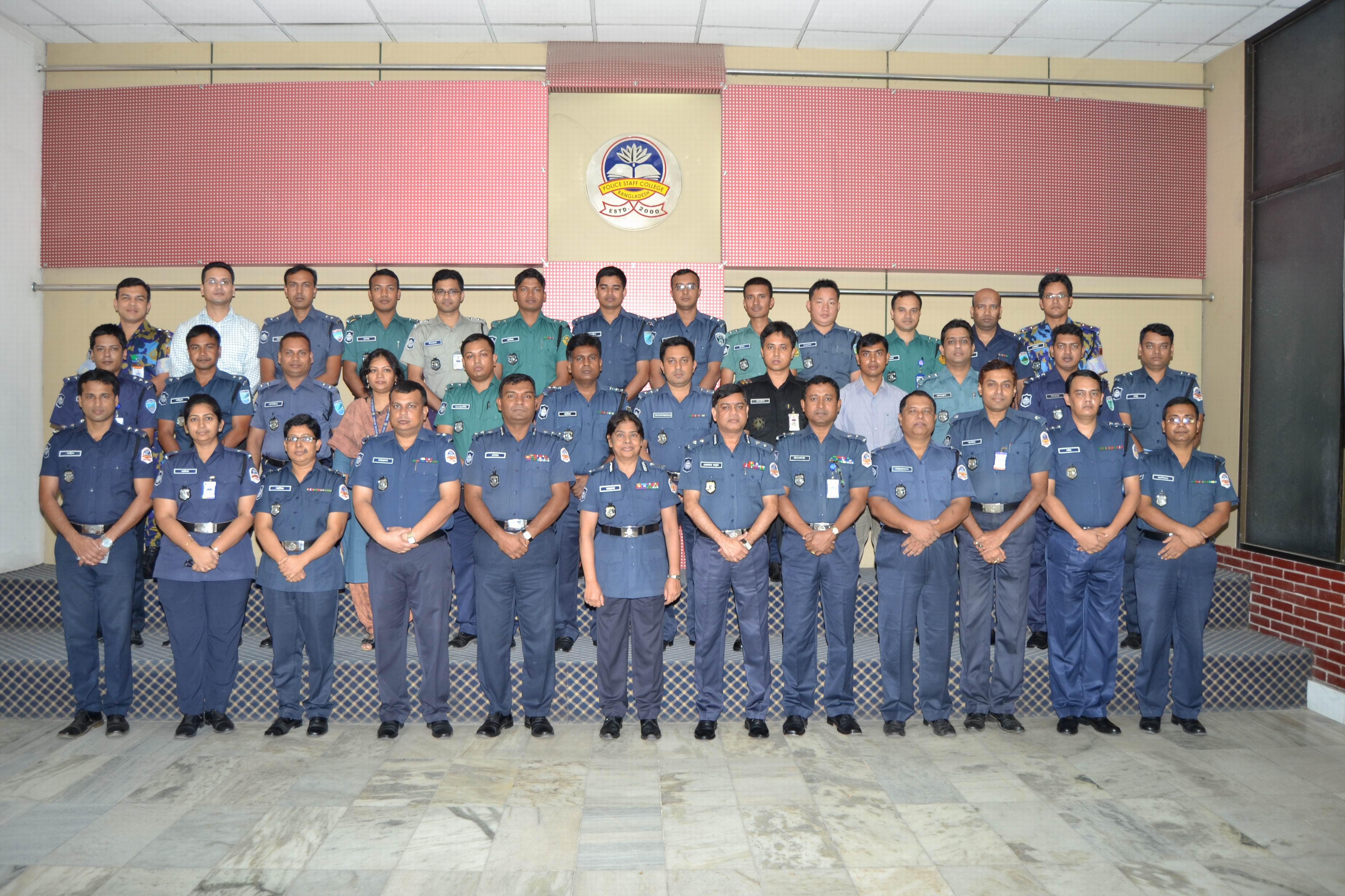 Participant of 28th Police Management Certificate Course.