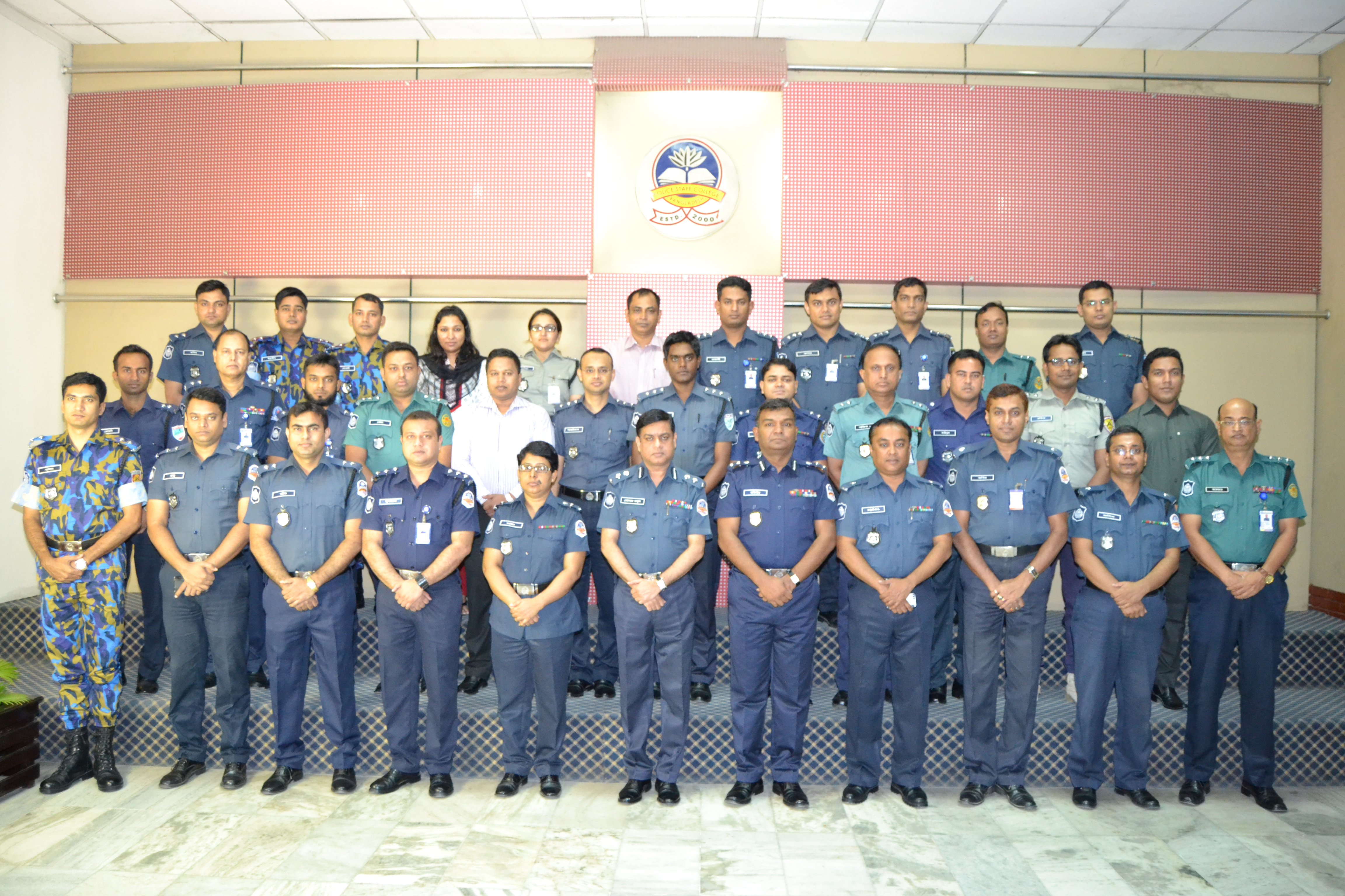Participant of 30th Police Management Course.