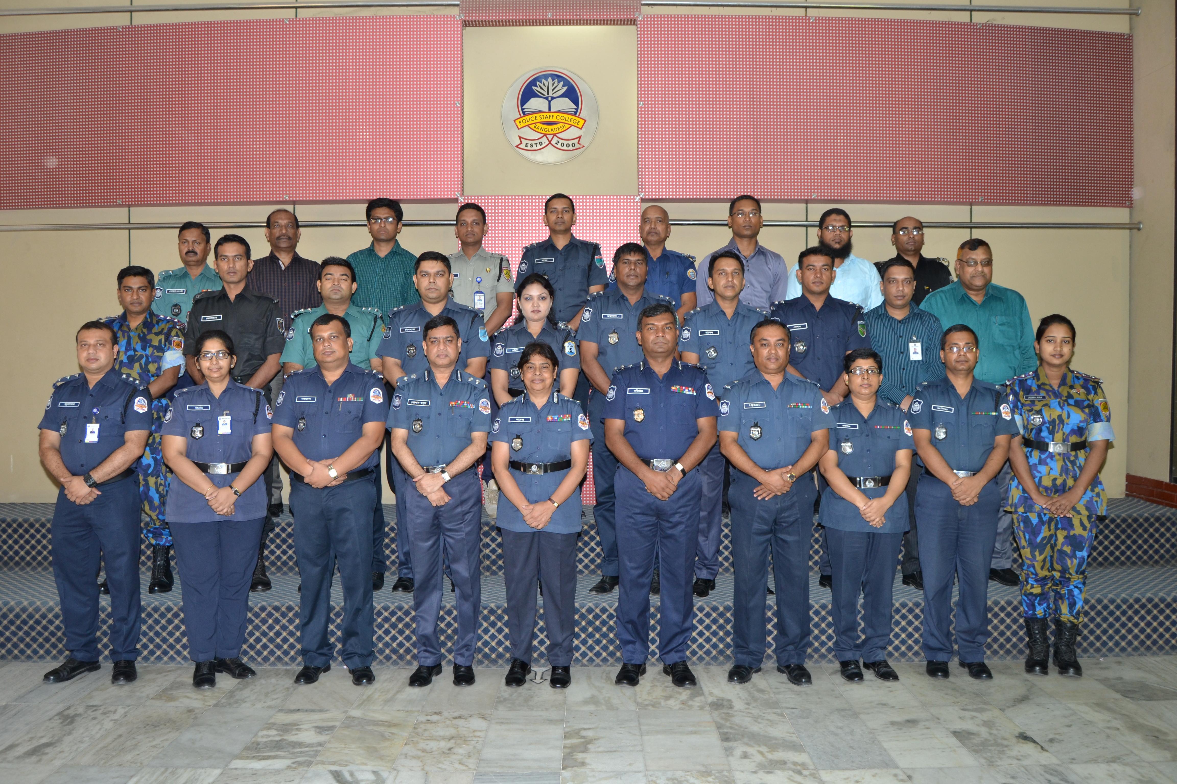 Participant of 31st Police Management Course.
