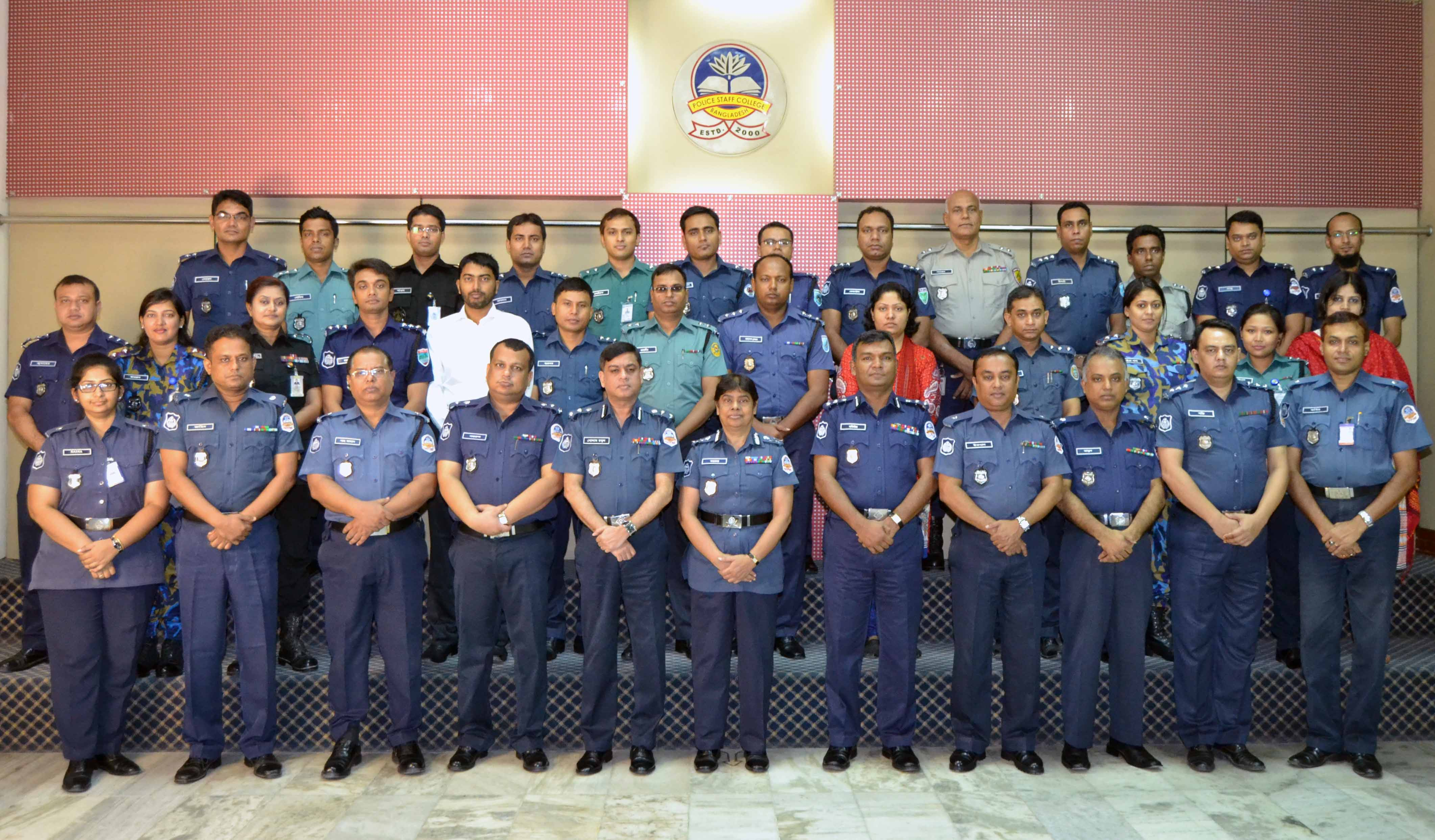 Participant of 32nd Police Management Course.