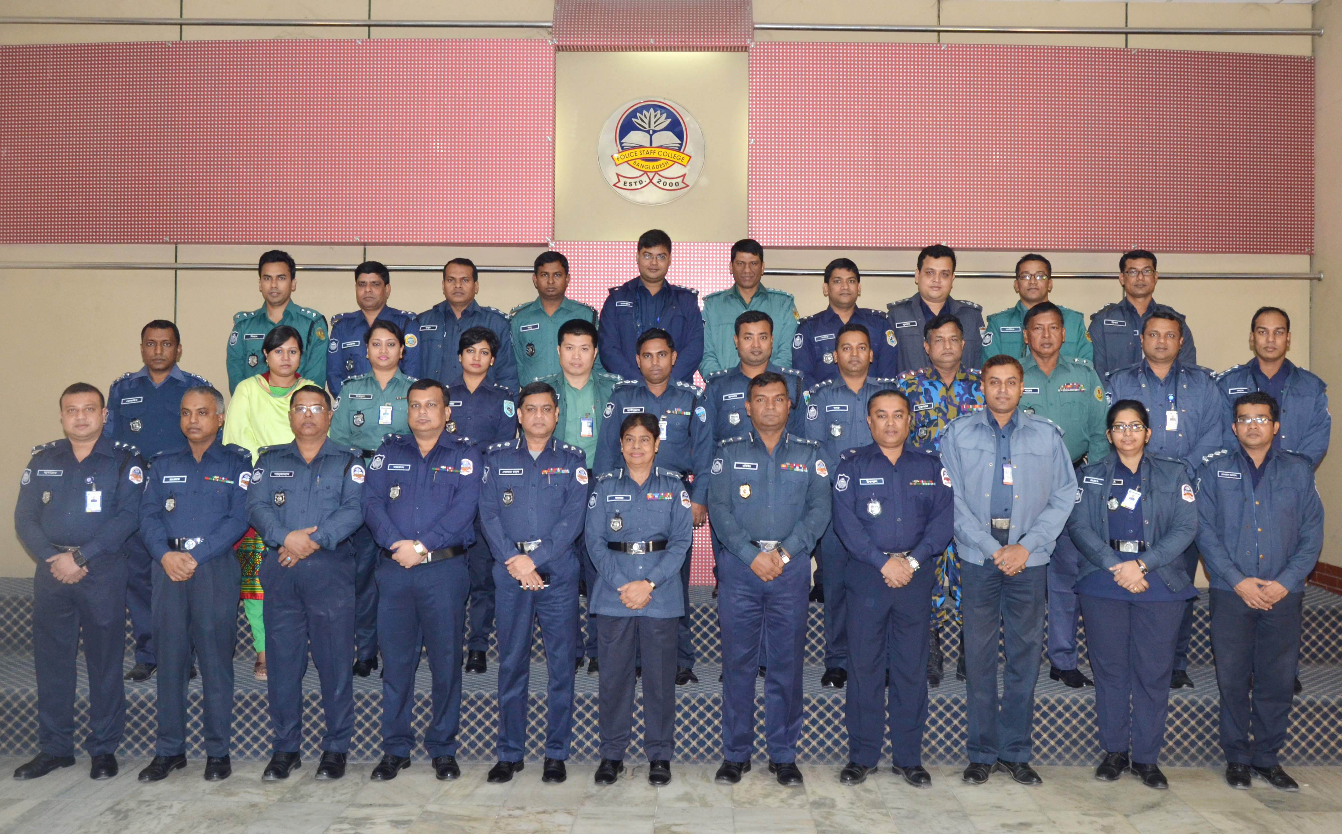 Participant of 33rd Police Management Course.