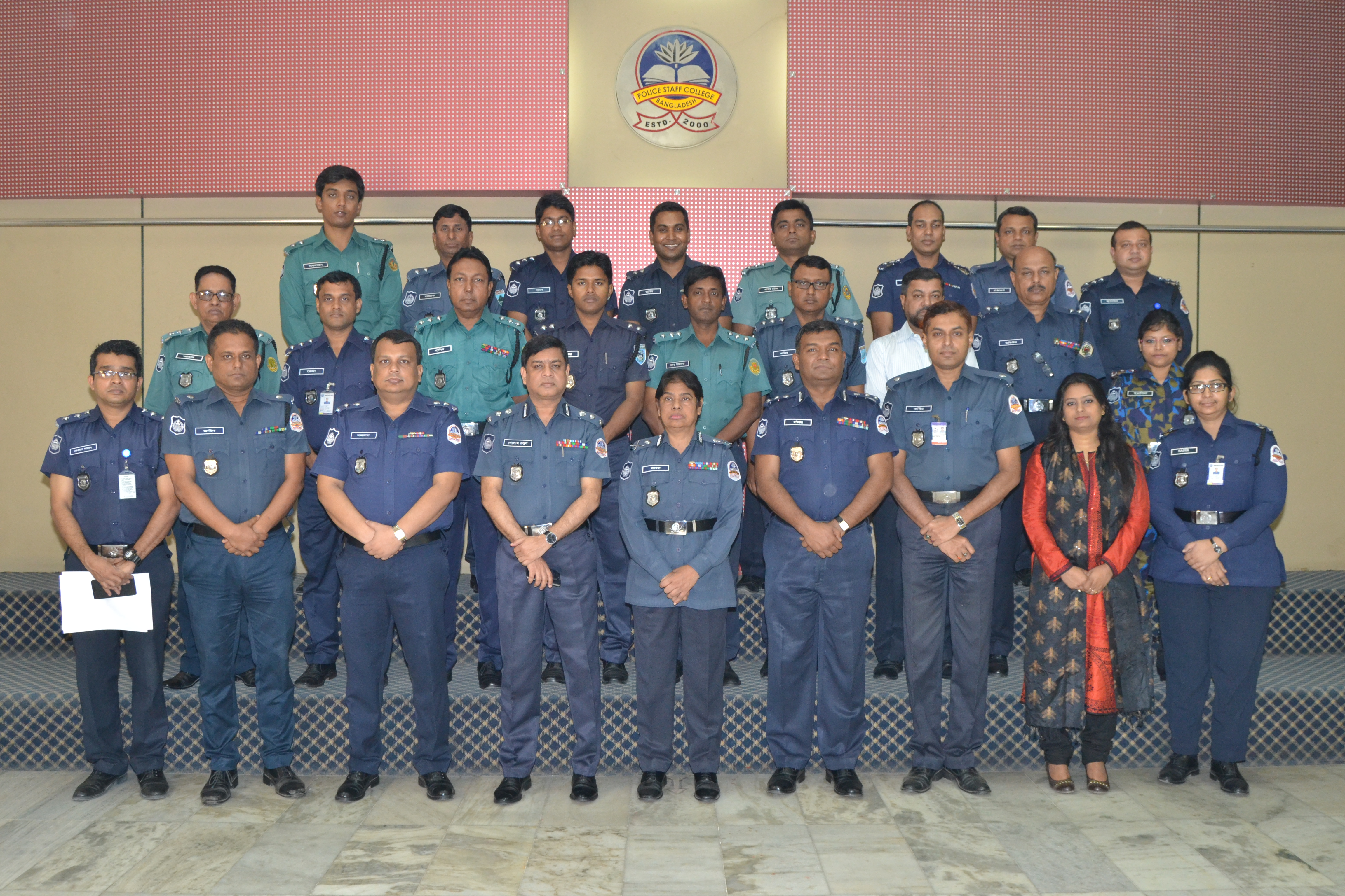 Participant of 34th Police Management Course.