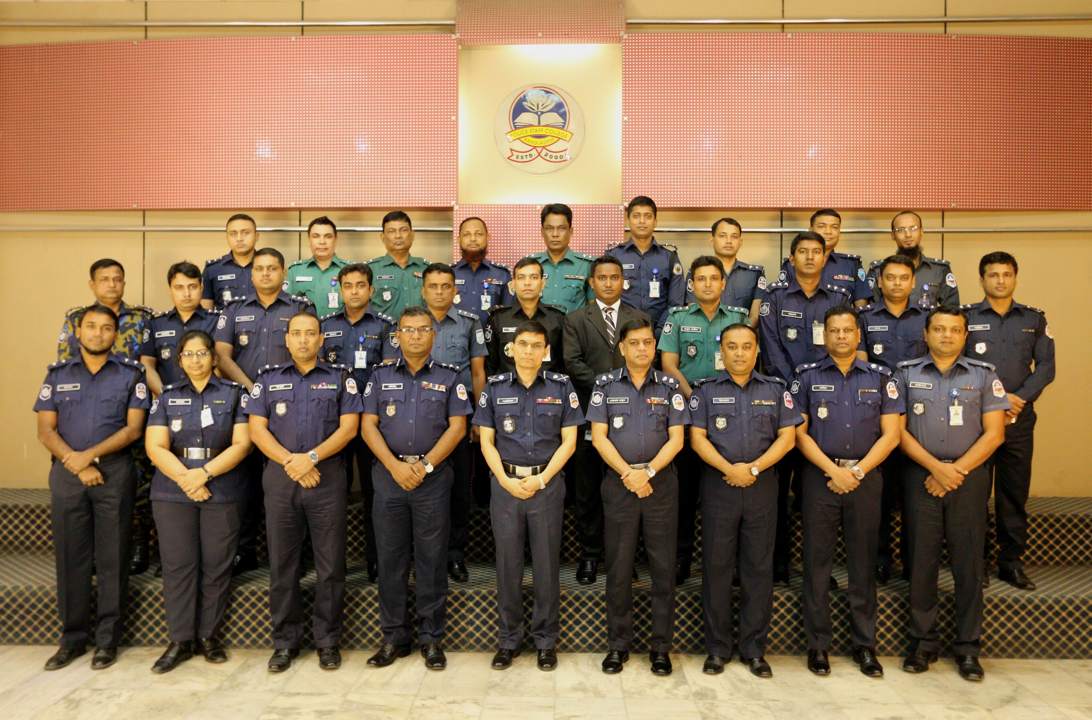 Participant of 36th Police Management Certificate Course.