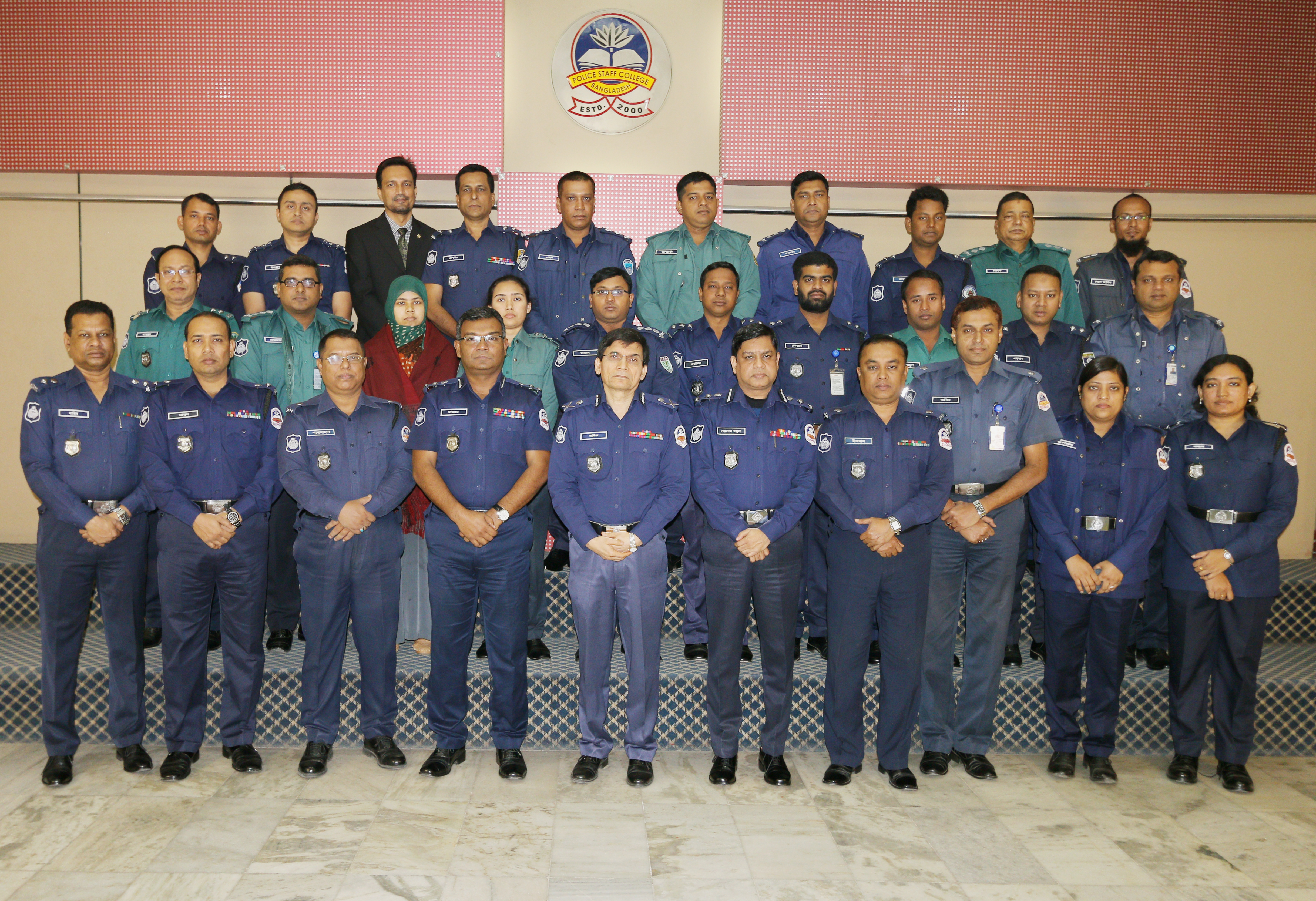 Participant of 37th Police Management Certificate Course.