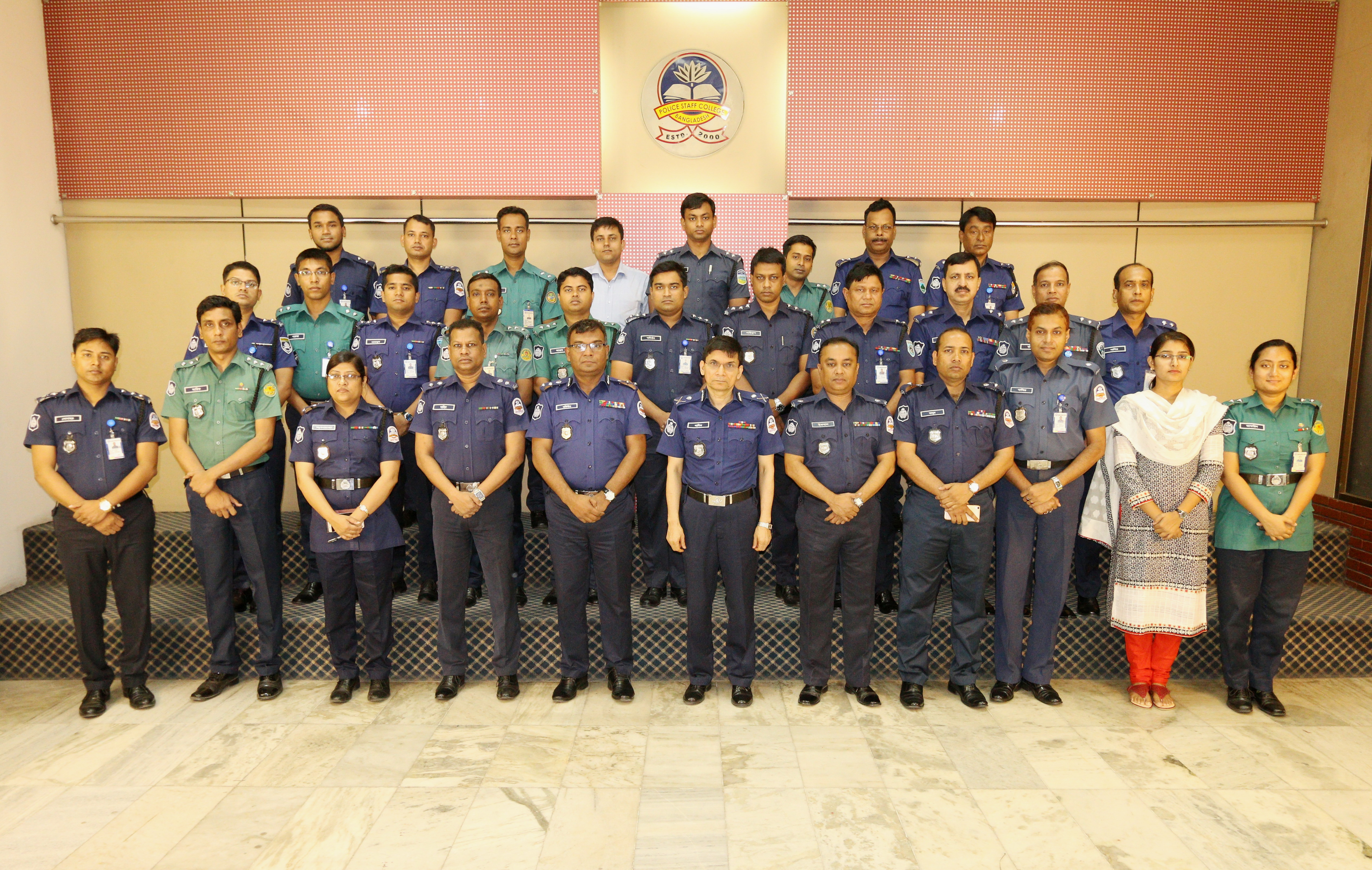 Participant of 38th Police Management Certificate Course.