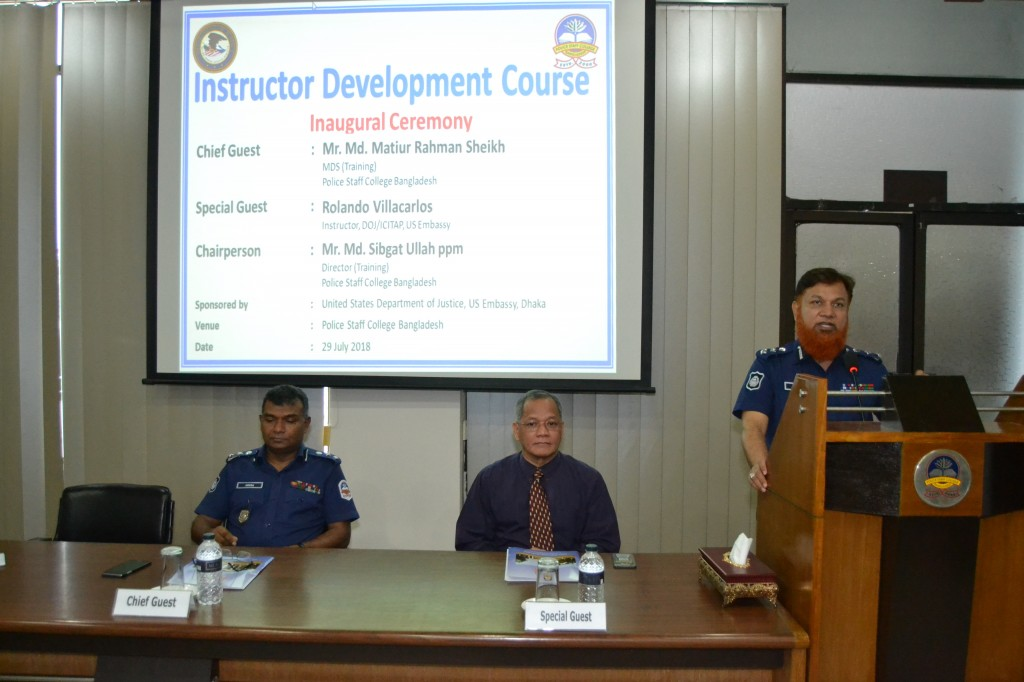 Instructor Development Course